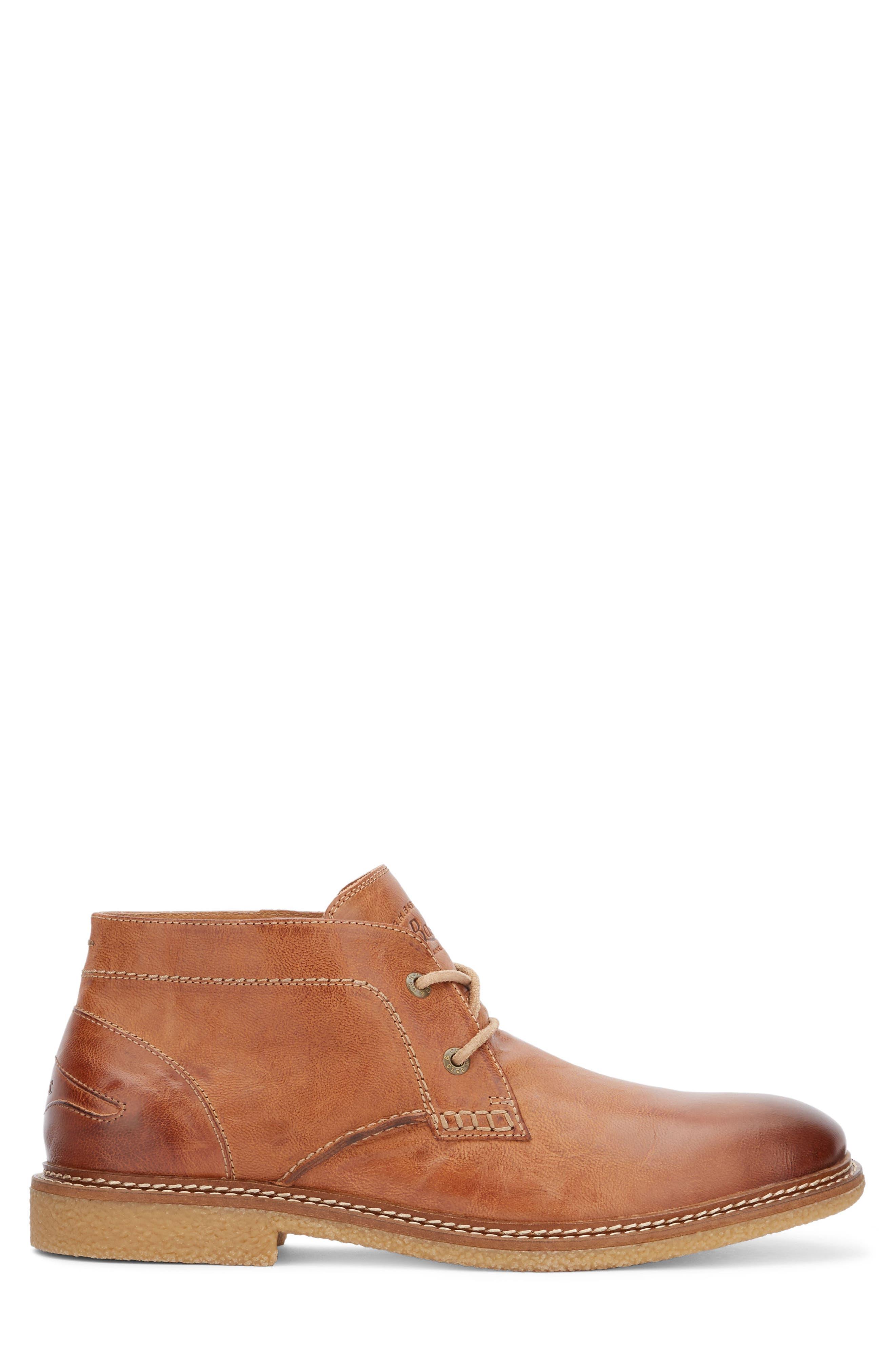 'Bennett' Chukka Boot,                             Alternate thumbnail 3, color,                             Tan Leather