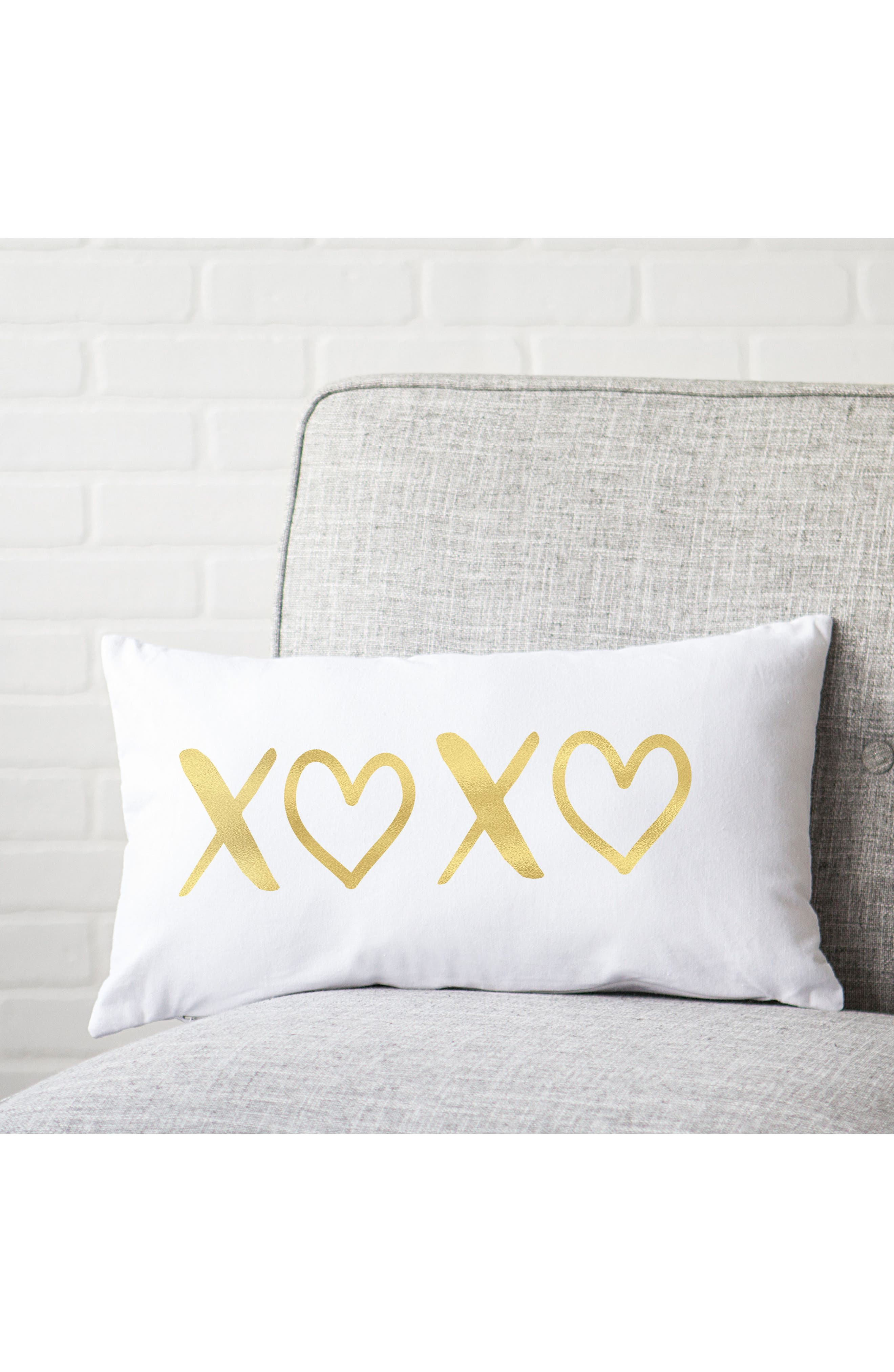 Alternate Image 2  - Cathy's Concepts XOXO Accent Pillow