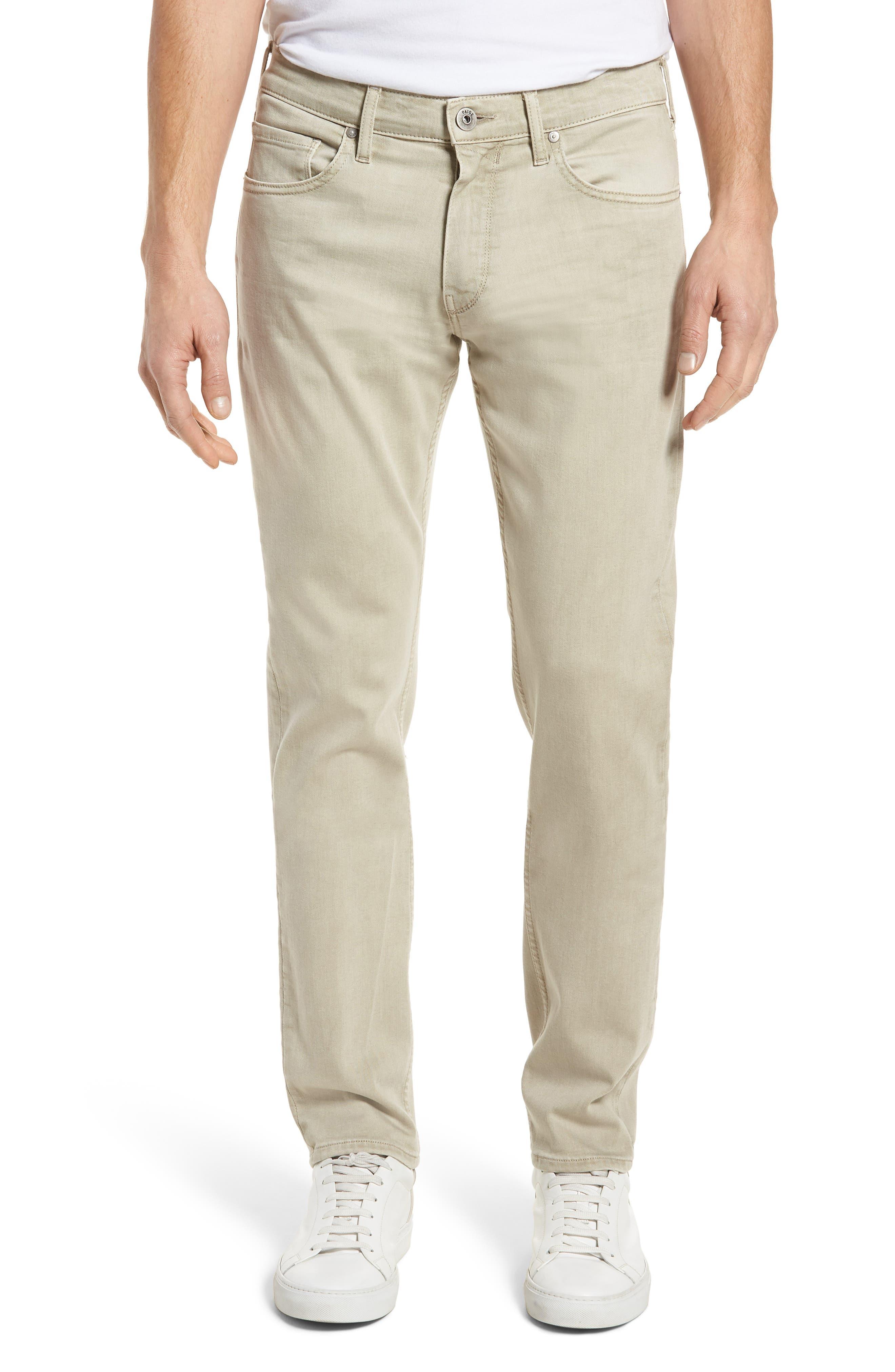 Federal Slim Straight Leg Jeans,                             Main thumbnail 1, color,                             Vintage Pebble