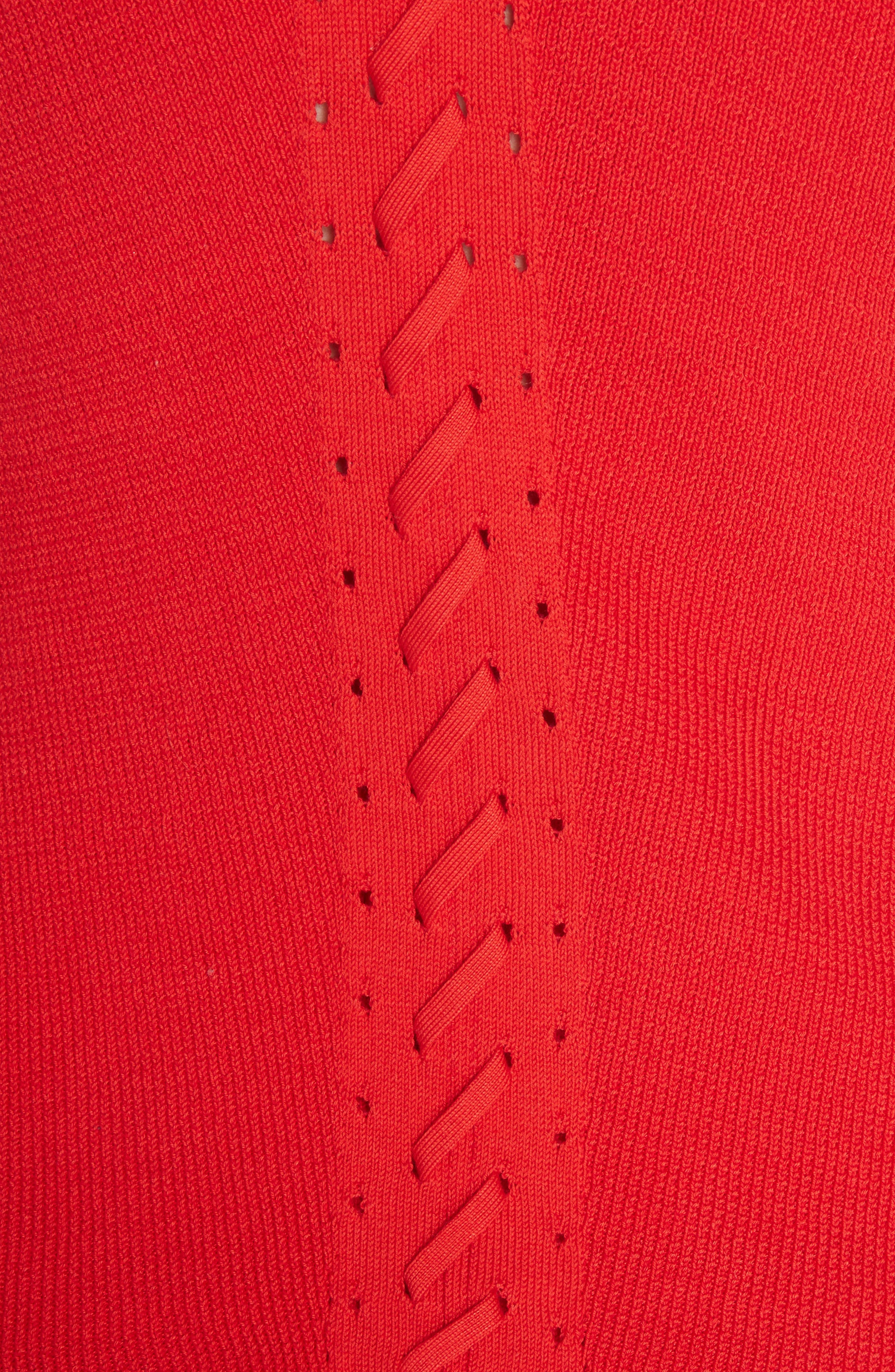 Brandy Knit Tank,                             Alternate thumbnail 5, color,                             Red
