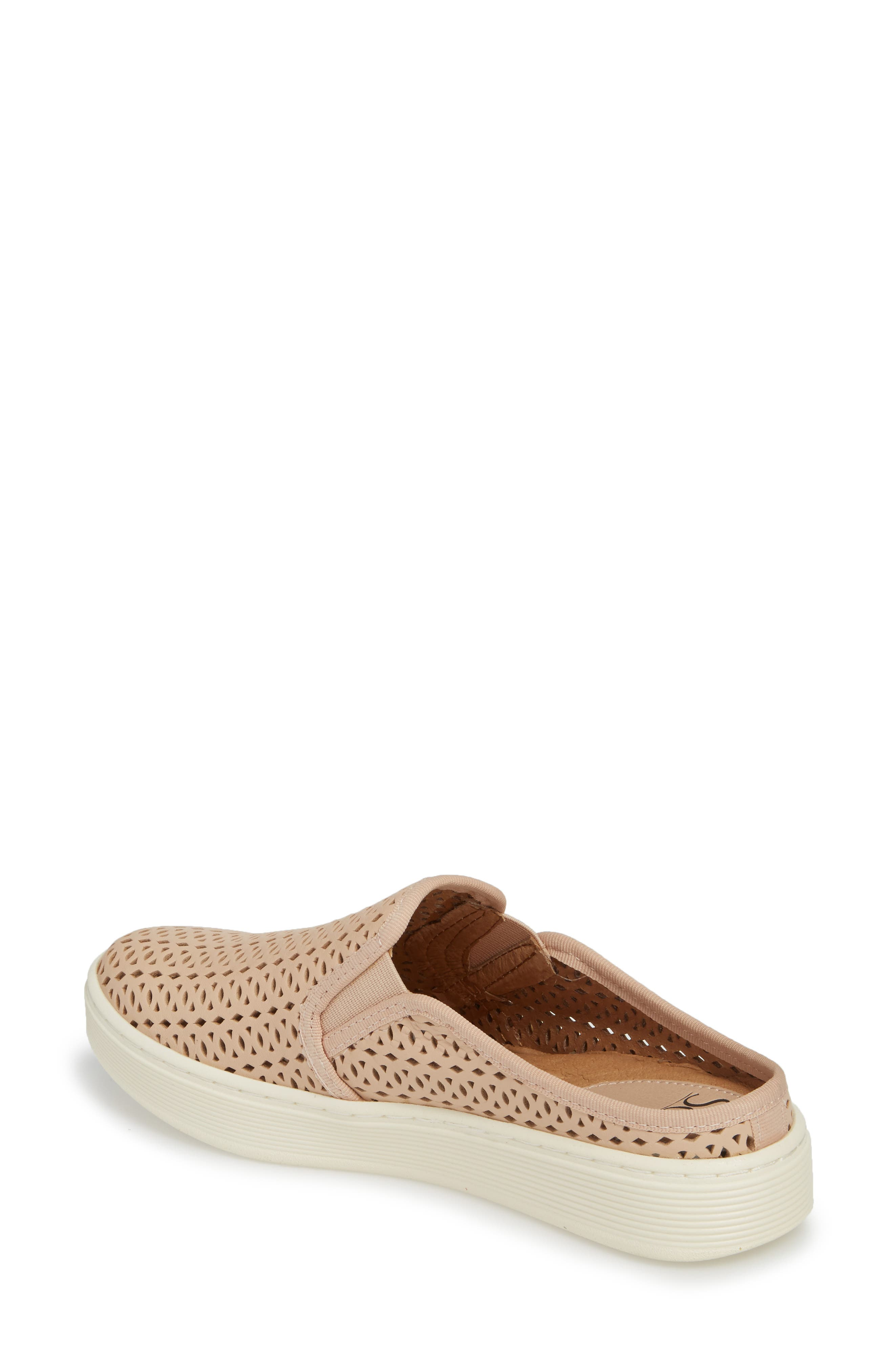 Somers II Sneaker Mule,                             Alternate thumbnail 2, color,                             Blush Leather