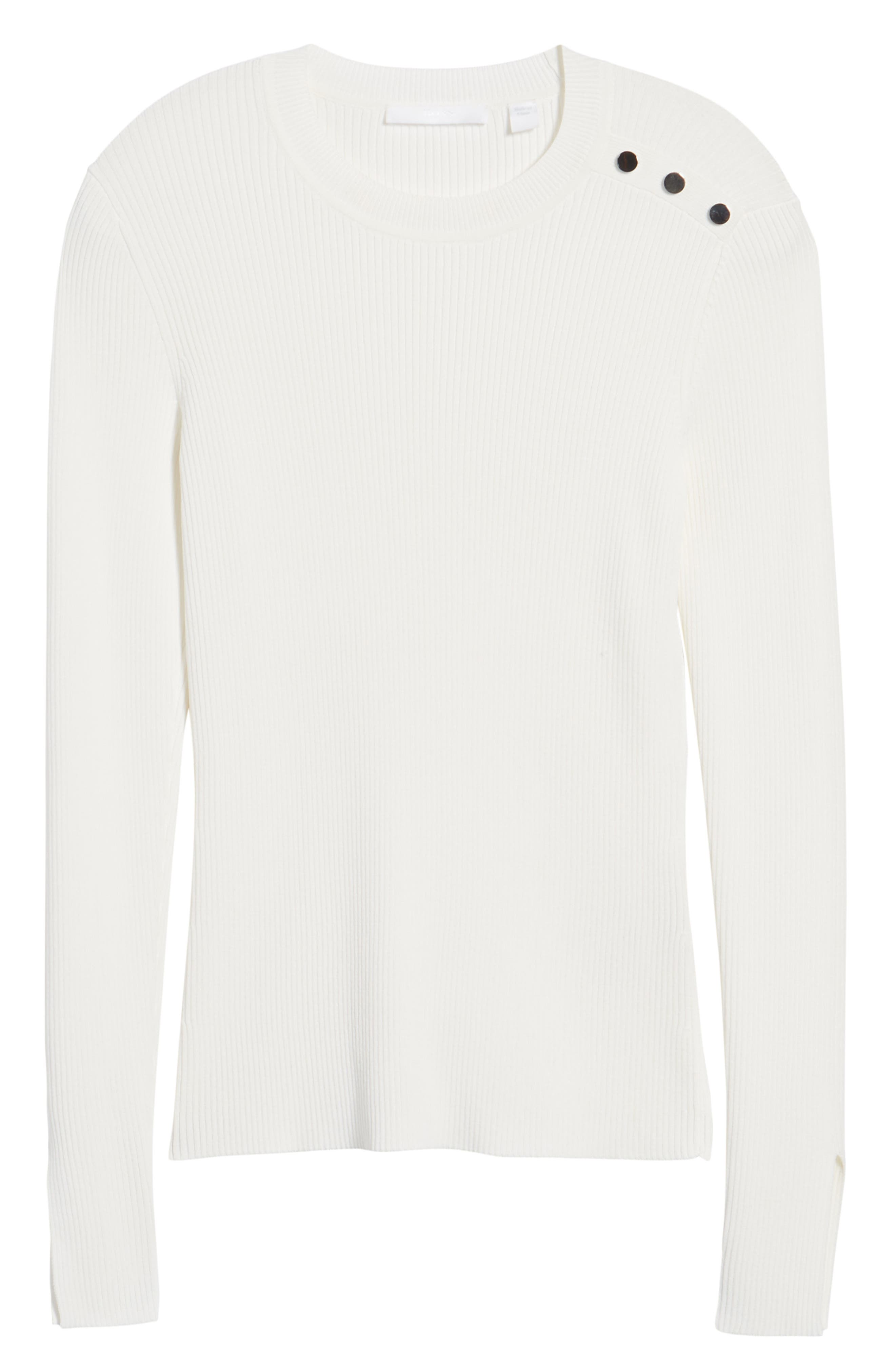 Fangeli Sweater,                             Alternate thumbnail 6, color,                             Vanilla Light