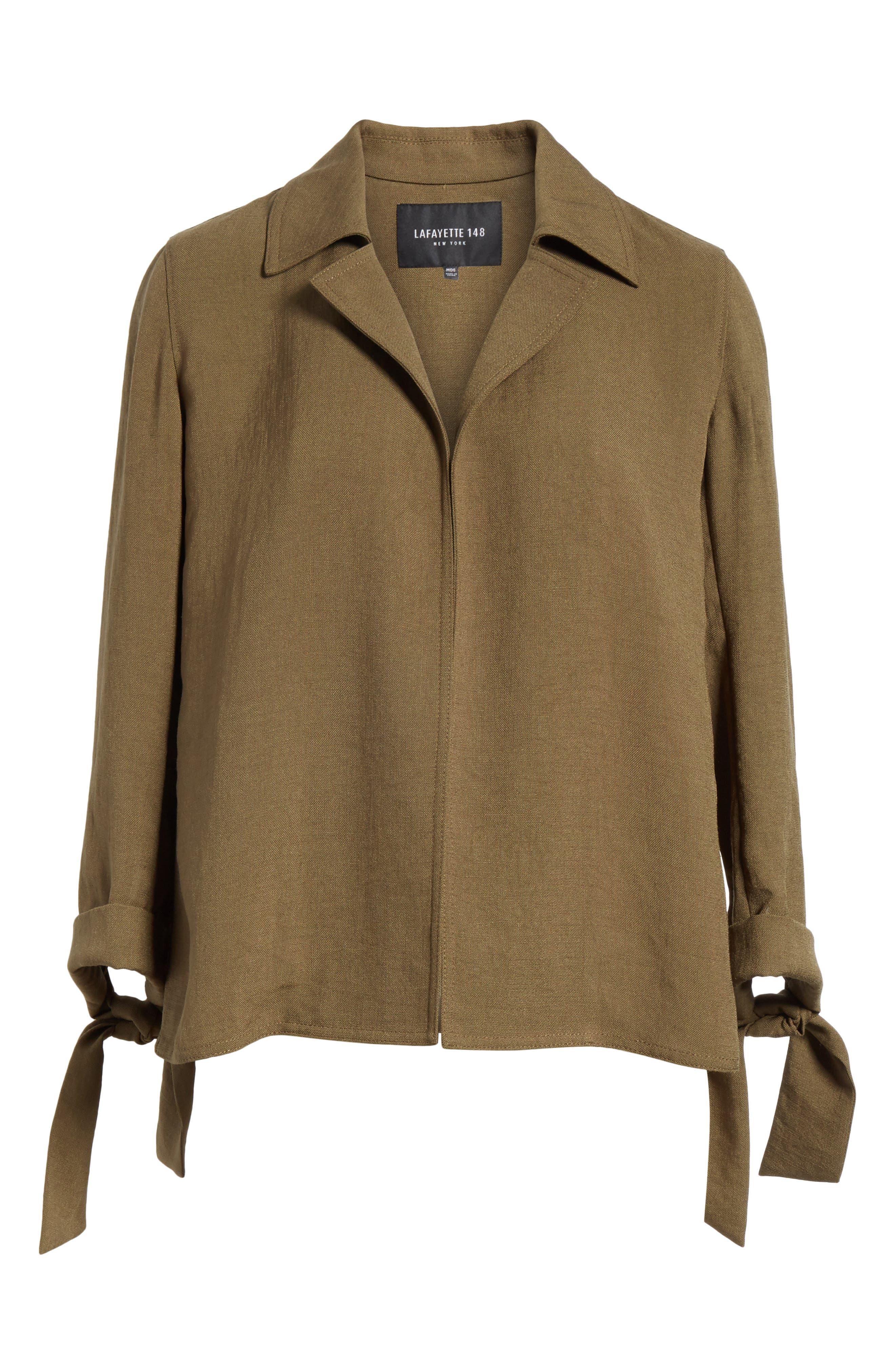 Alternate Image 6  - Lafayette 148 New York Grant Altruistic Cloth Jacket