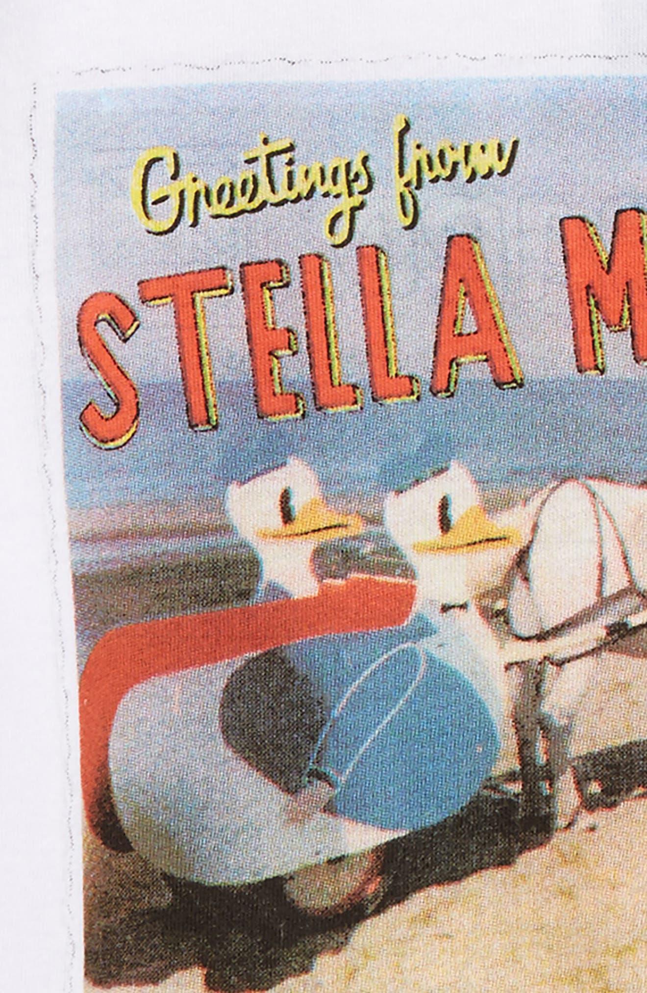 Alternate Image 2  - Stella McCartney Arlo Stella Postcard Tee (Toddler Girls, Little Girls & Big Girls)