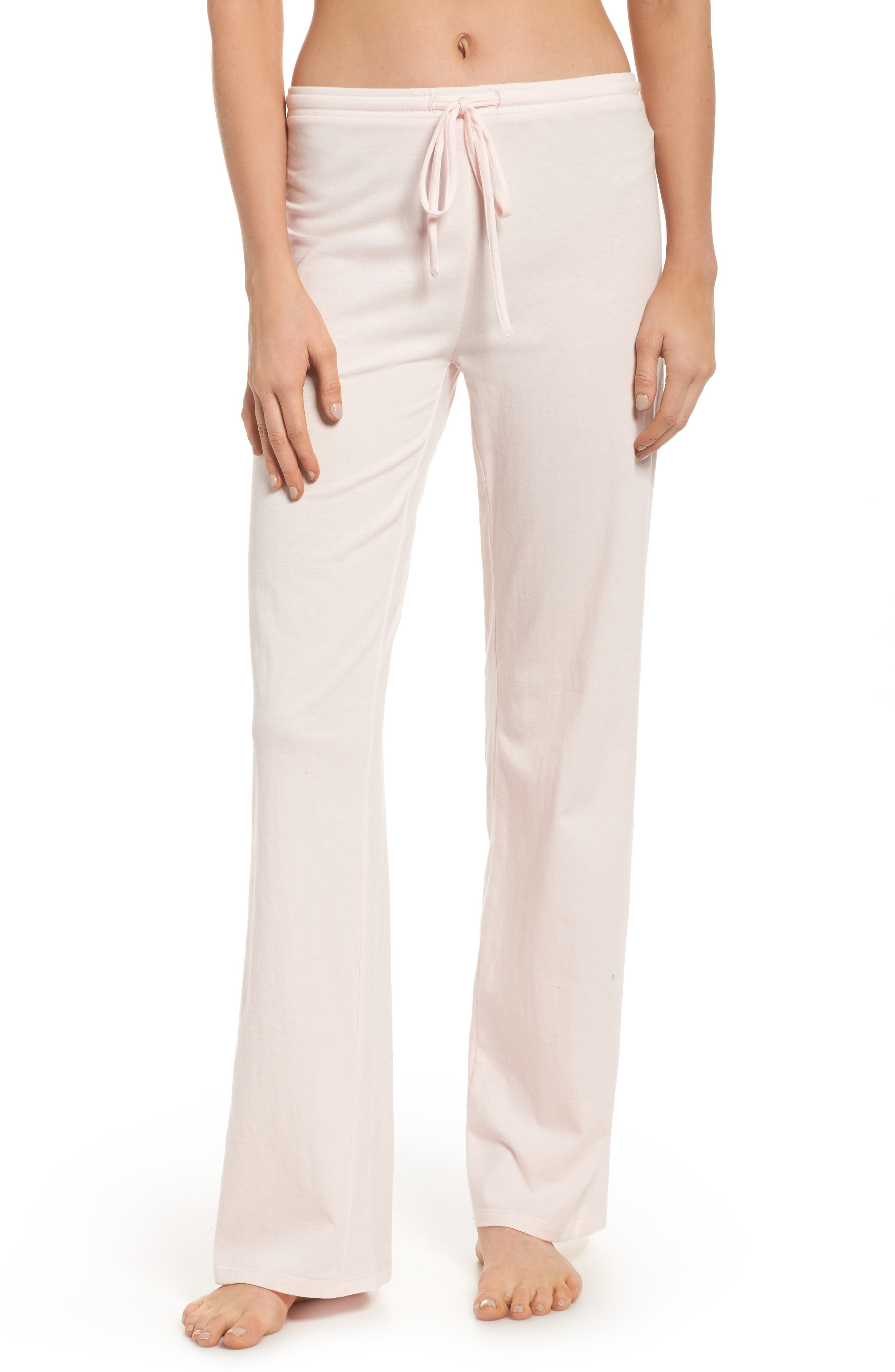 Breathe Lounge Pants,                         Main,                         color, Pink Frosty