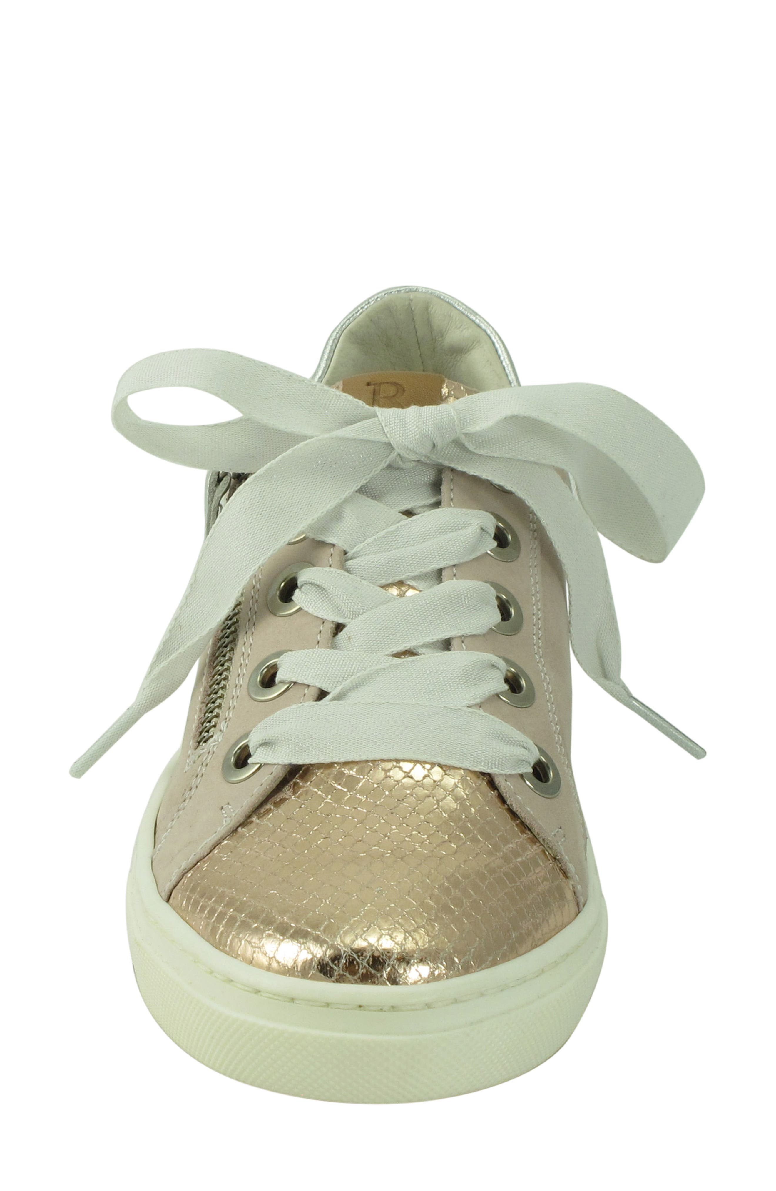 Orabella Weatherproof Sneaker,                             Alternate thumbnail 4, color,                             Blush Nubuck