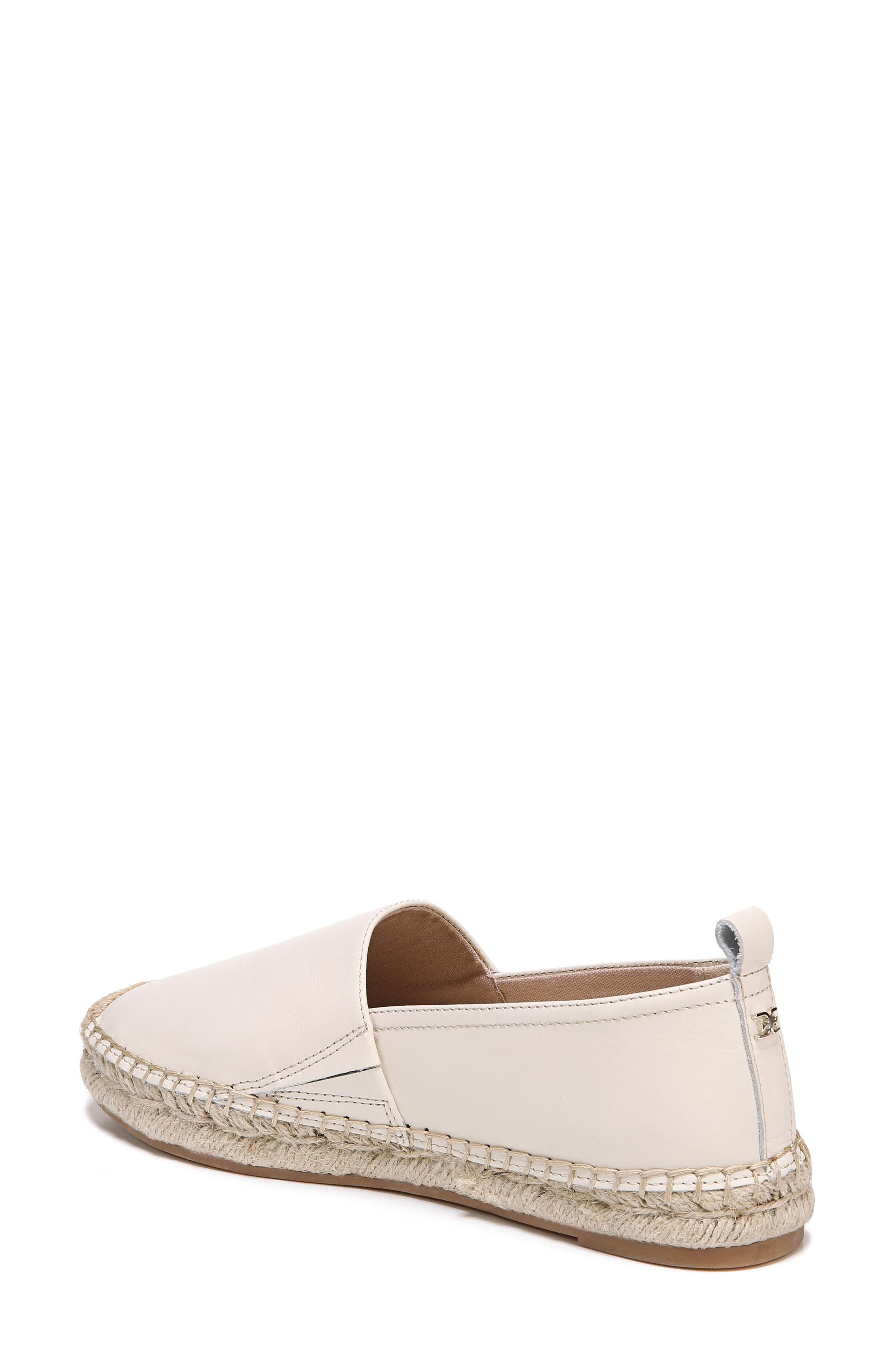 Khloe Espadrille Flat,                             Alternate thumbnail 2, color,                             Modern Ivory Leather