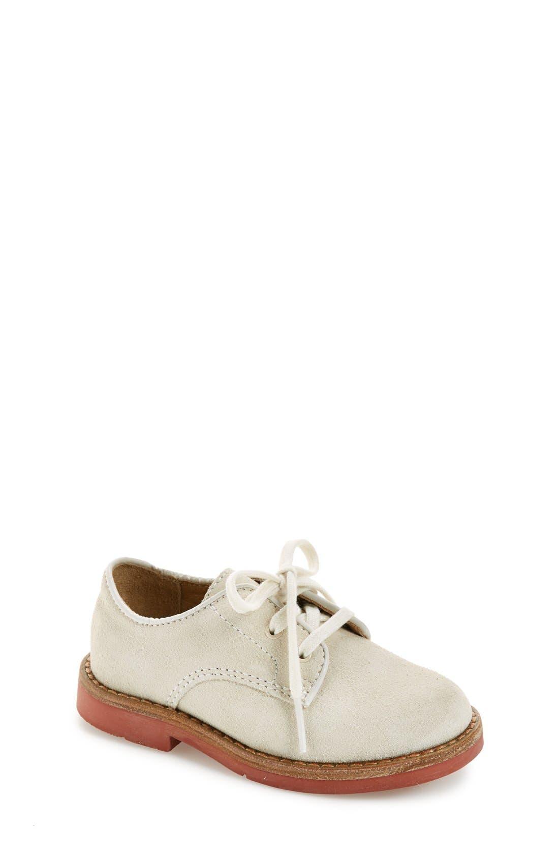 Ralph Lauren Barton Suede Derby Shoe Baby Walker