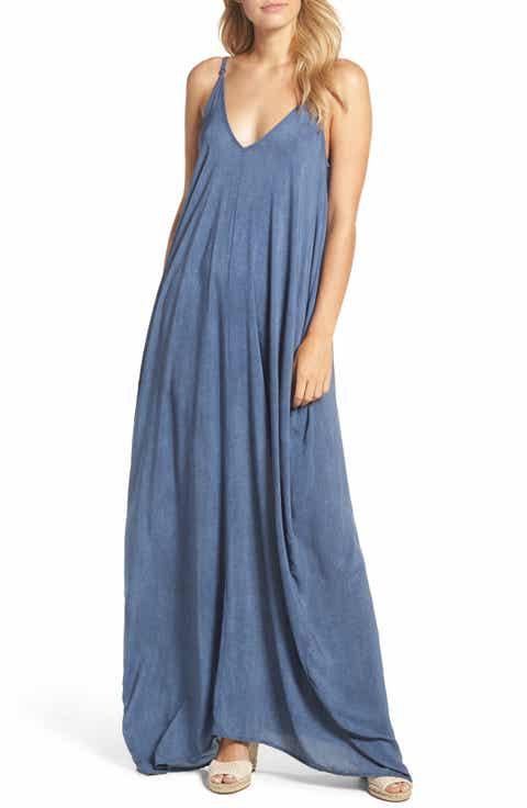 Gifts under 100 nordstrom elan v back cover up maxi dress negle Image collections