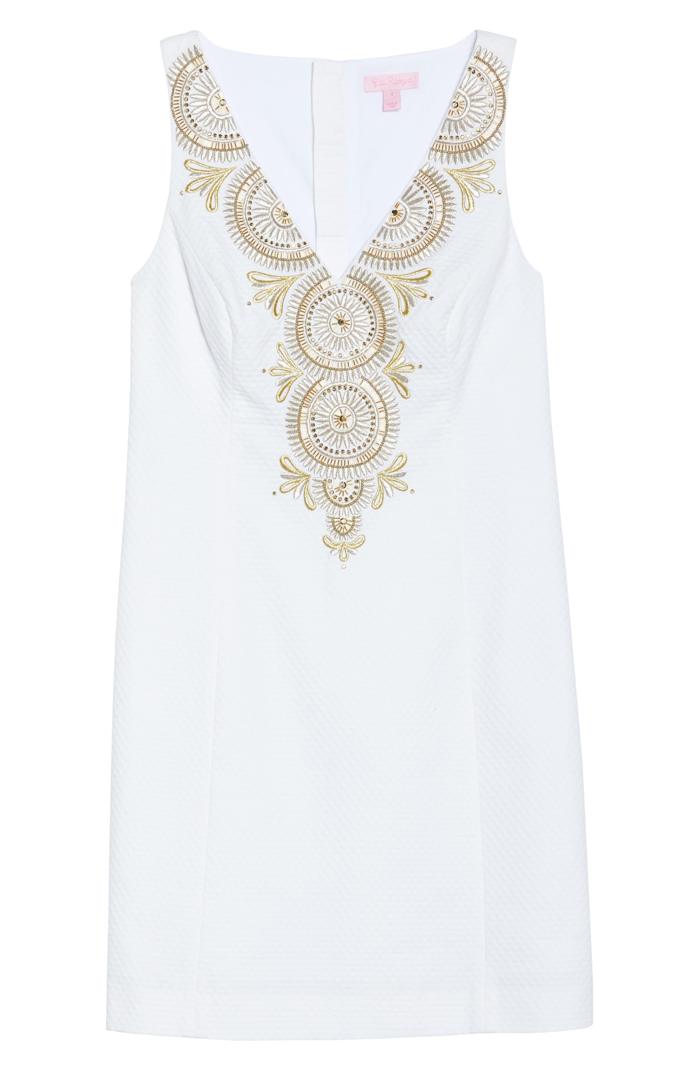 Alternate Image 6  - Lilly Pulitzer® Gabby Metallic Sheath Dress