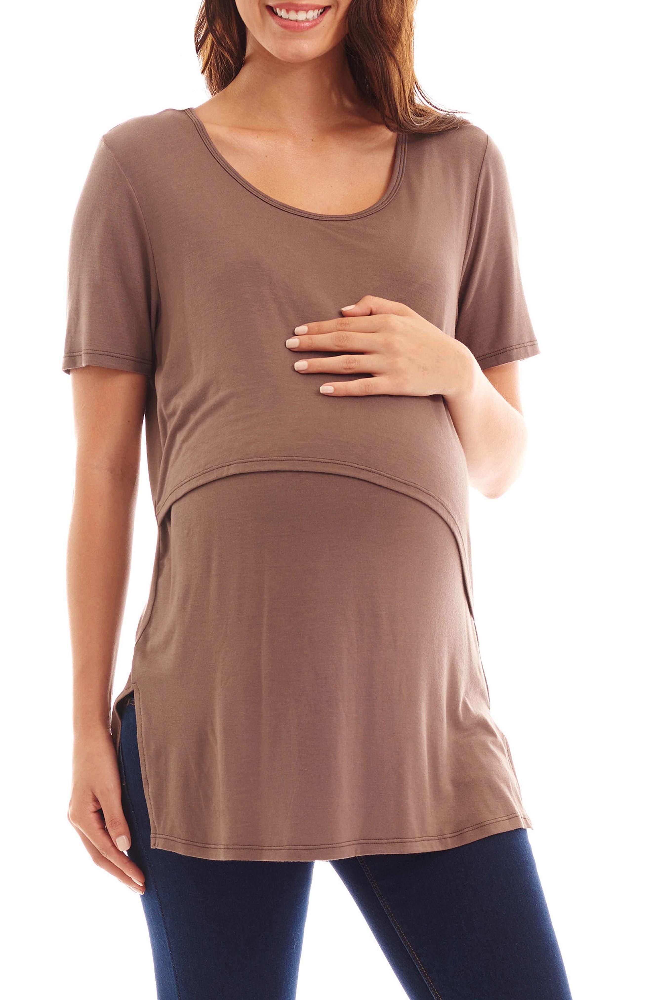 Everly Grey Sydney Maternity/Nursing Top