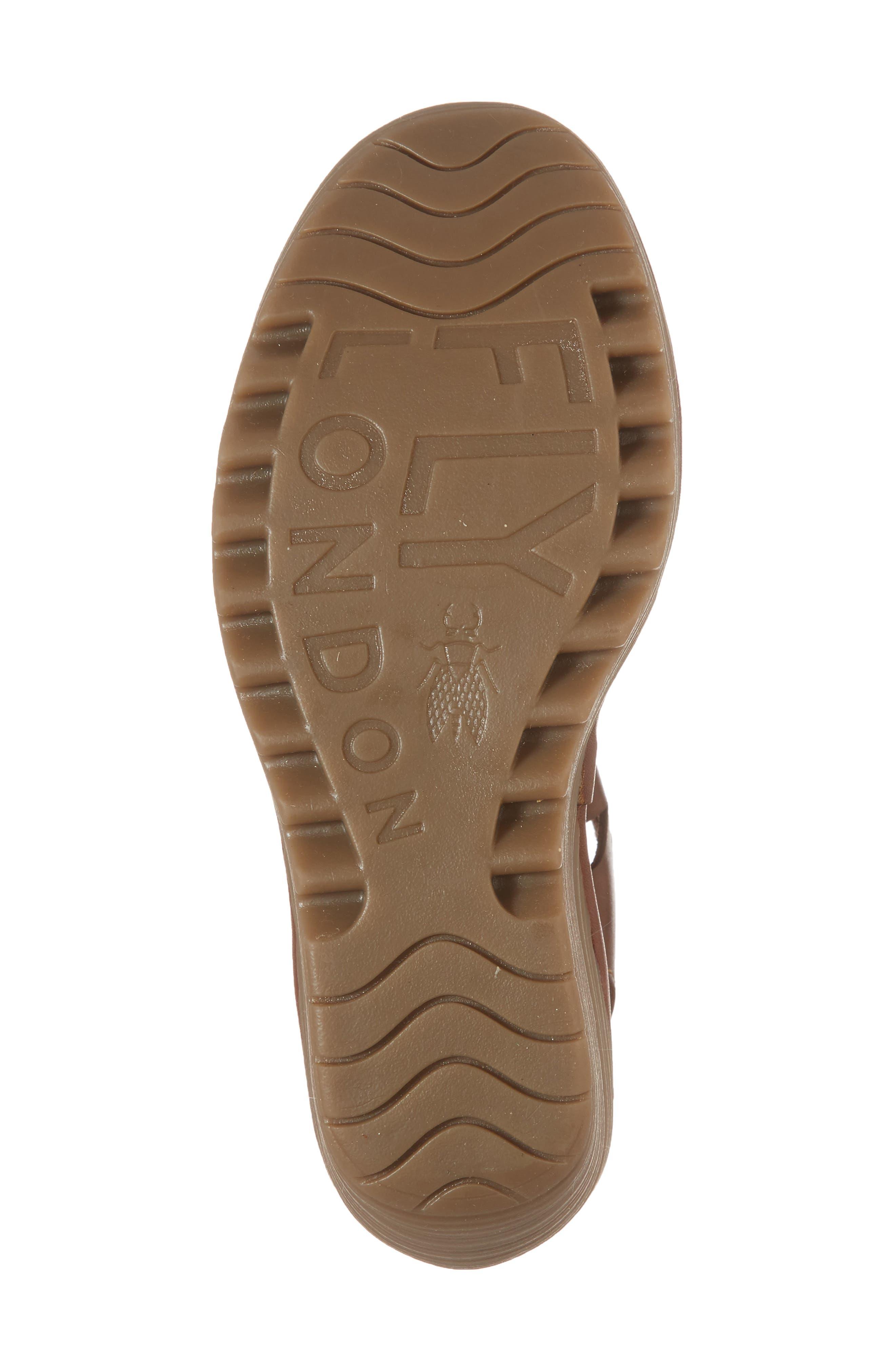 Yote Sandal,                             Alternate thumbnail 6, color,                             Brown Colmar Leather