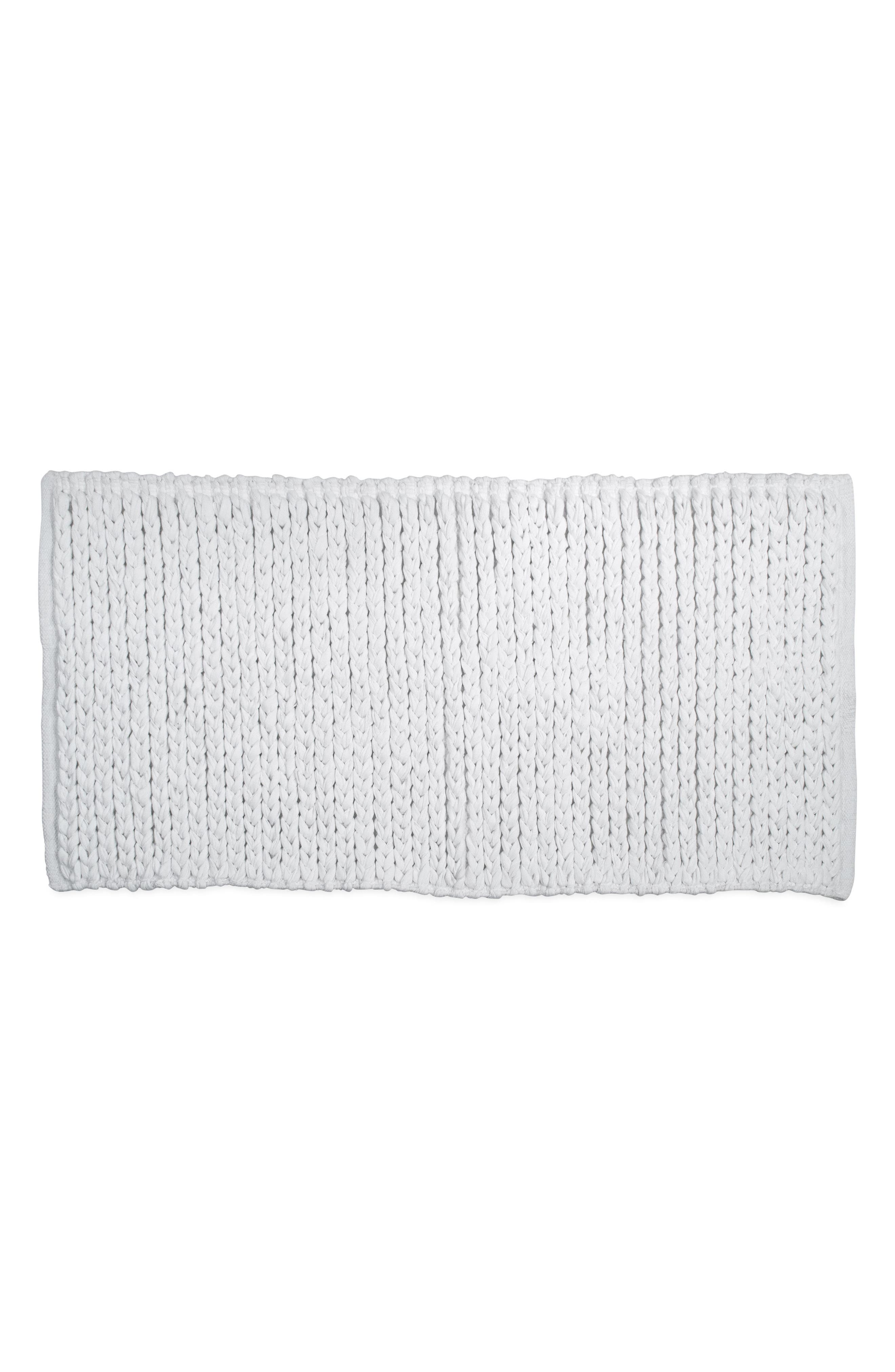 Bath Rug,                         Main,                         color, White