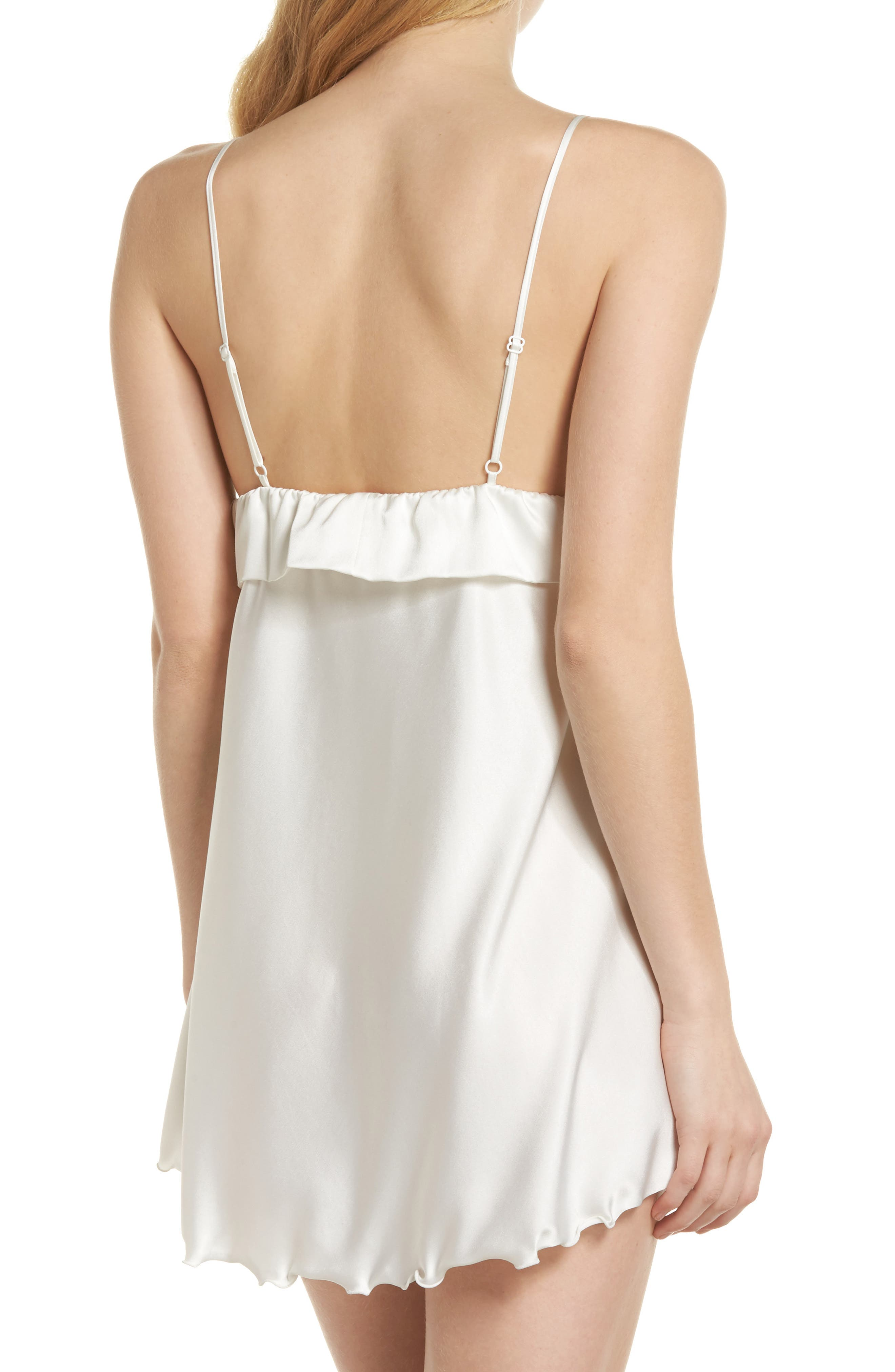 Alternate Image 2  - Samantha Chang Tie Front Babydoll Chemise