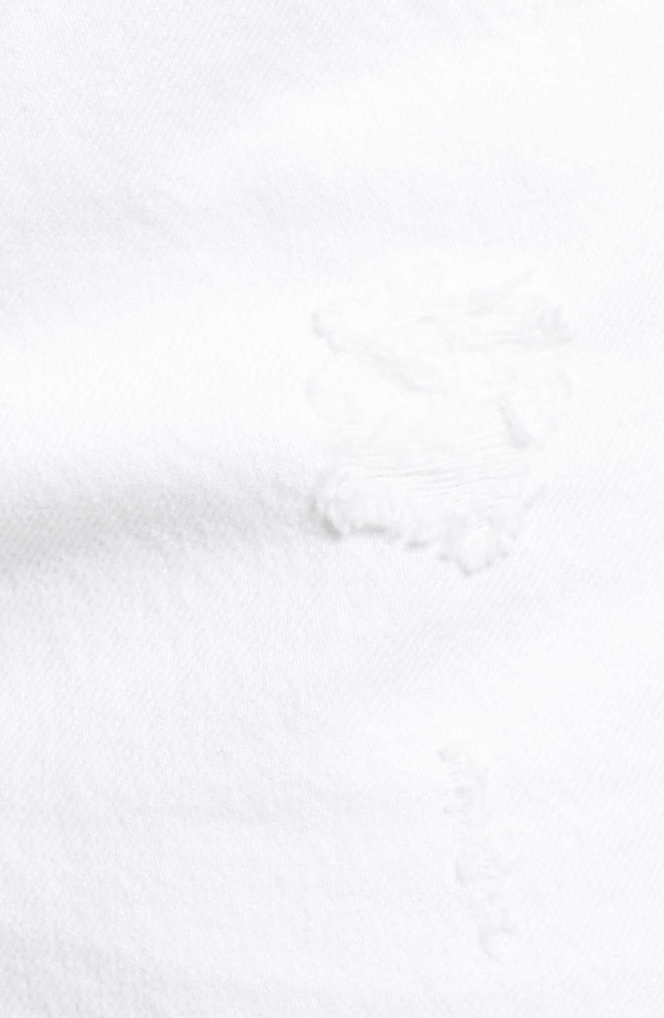 Alternate Image 5  - Levi's® 501® Cutoff Denim Shorts (Super Sonic)