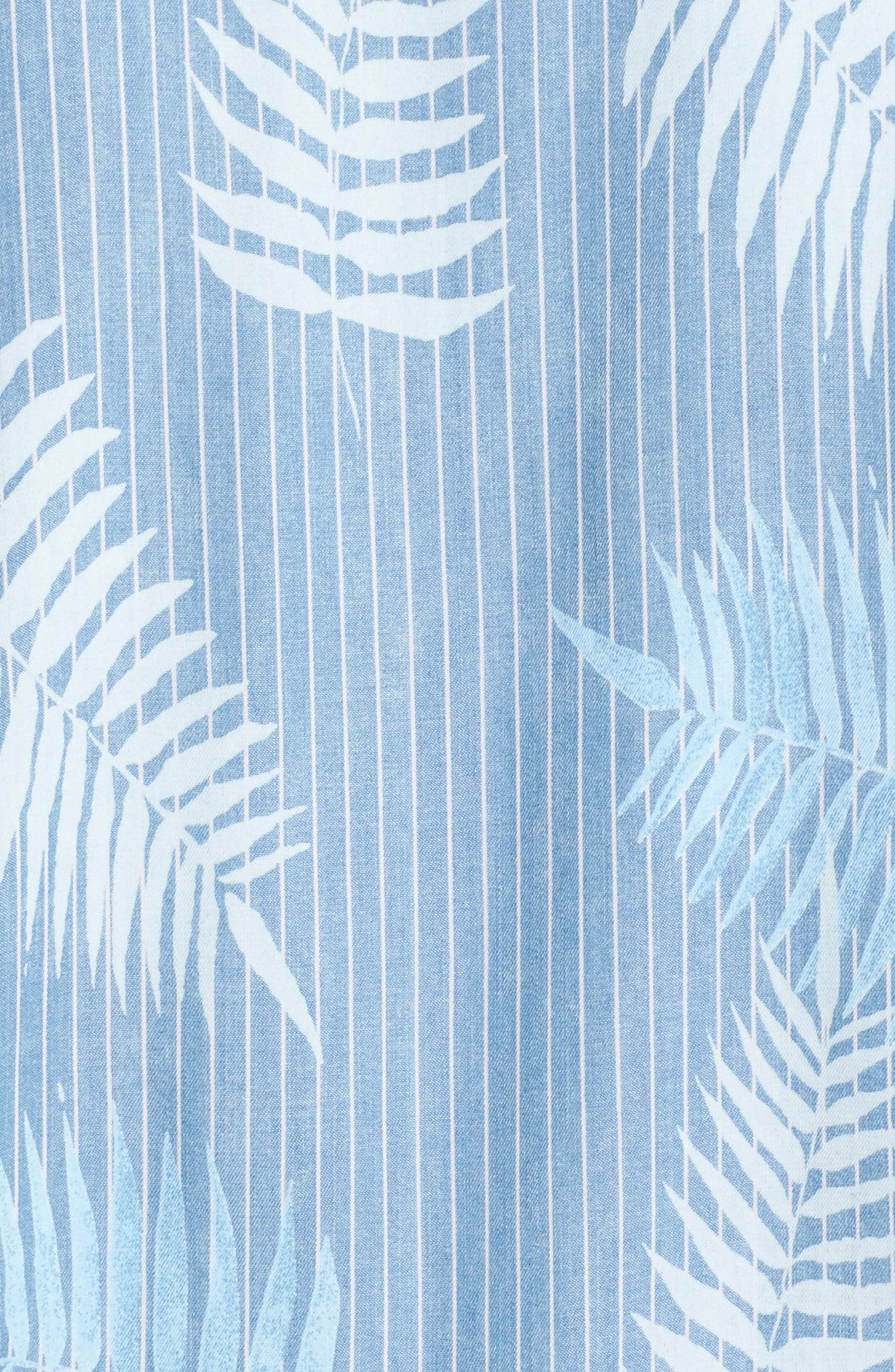 Tropical Breeze Bomber Jacket,                             Alternate thumbnail 6, color,                             Blue Tropical Breeze