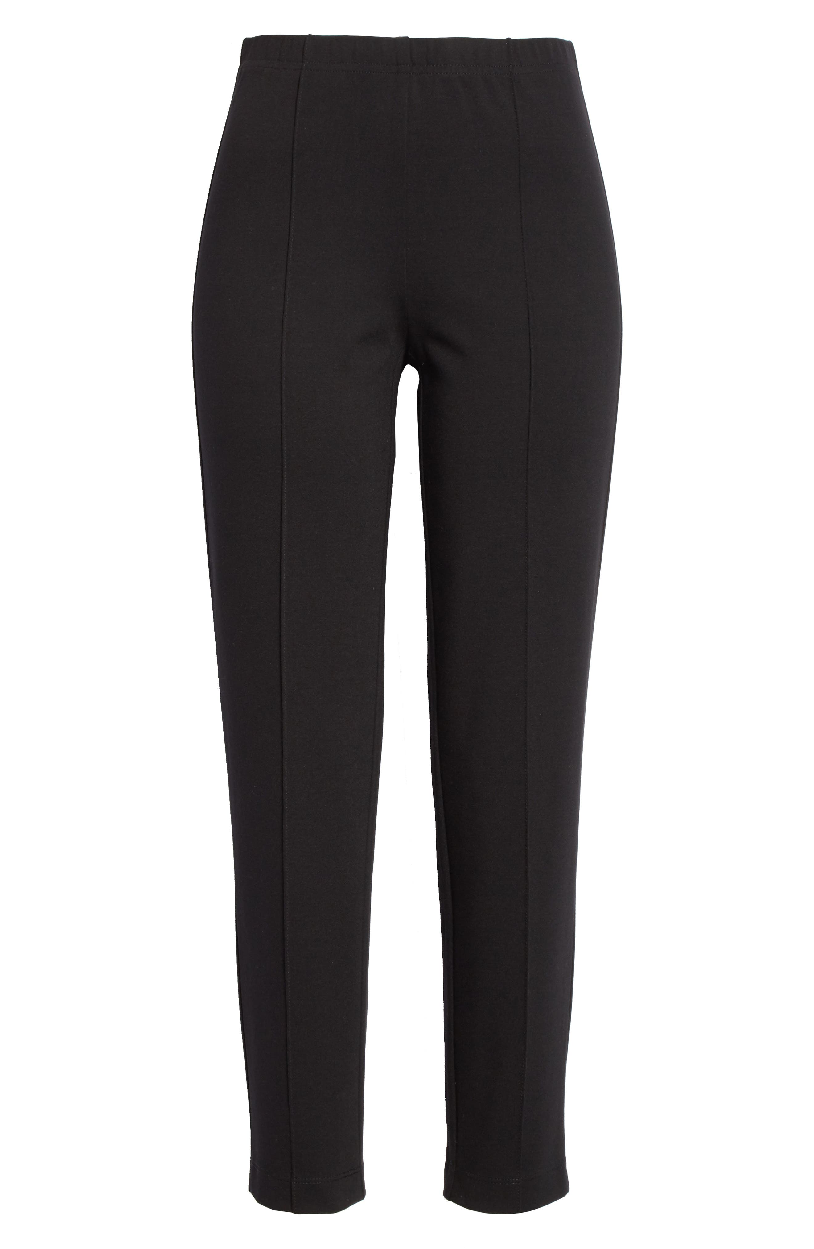 Alternate Image 5  - St. John Collection Ponte Knit Ankle Pants
