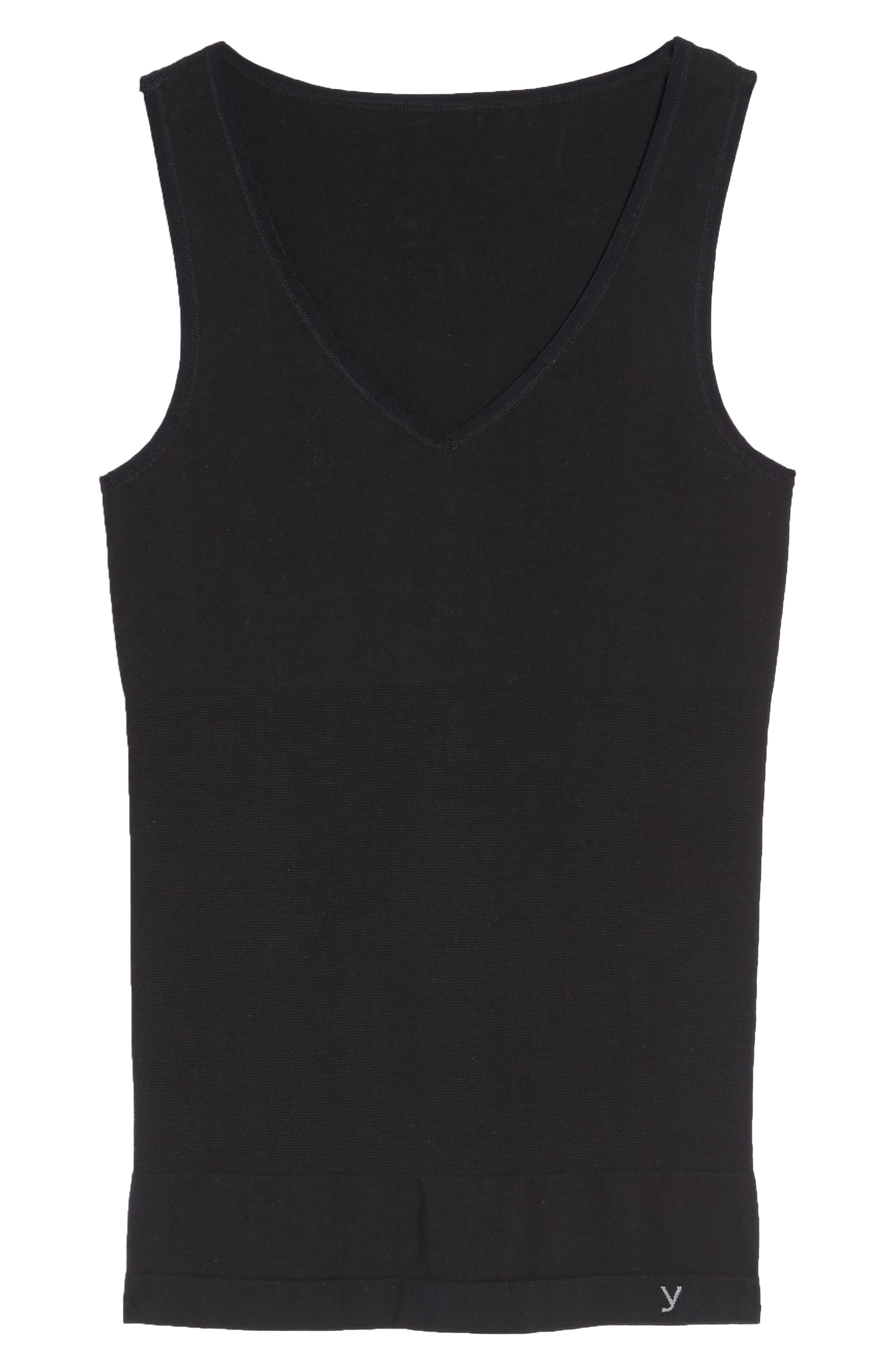 Seamless Tank,                             Alternate thumbnail 4, color,                             Black
