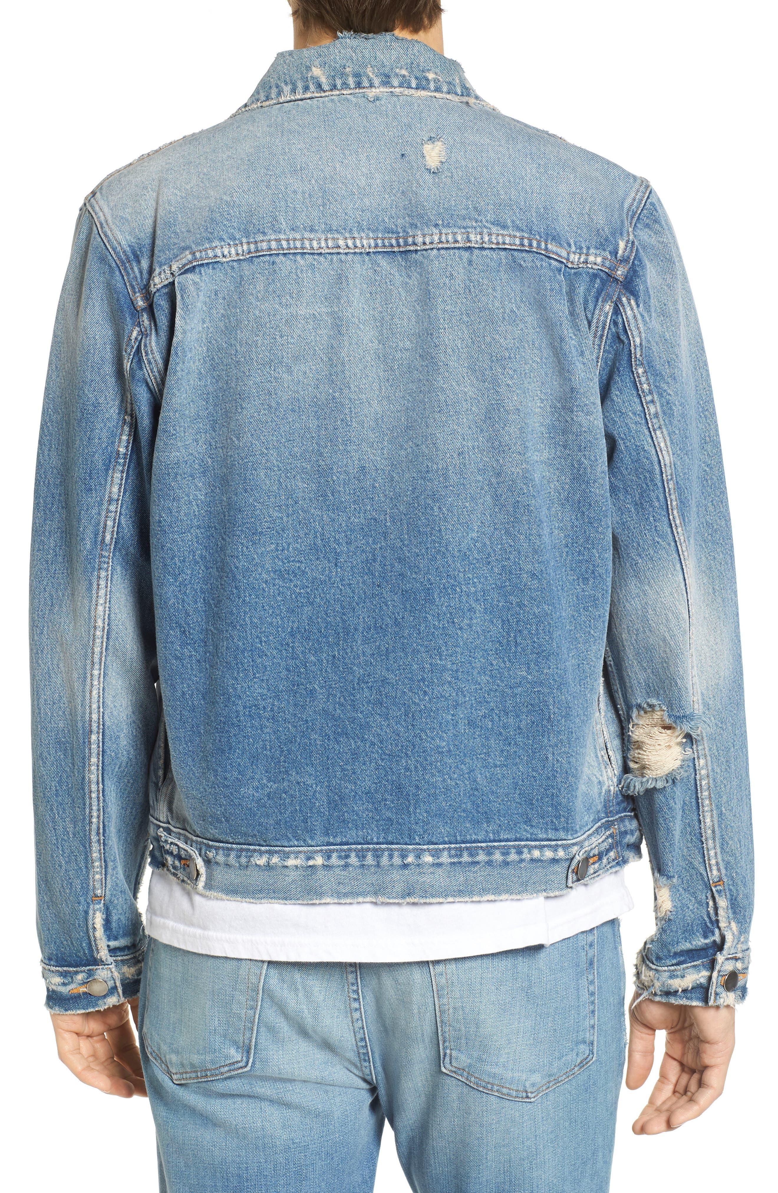 Alternate Image 2  - FRAME L'Homme Denim Jacket