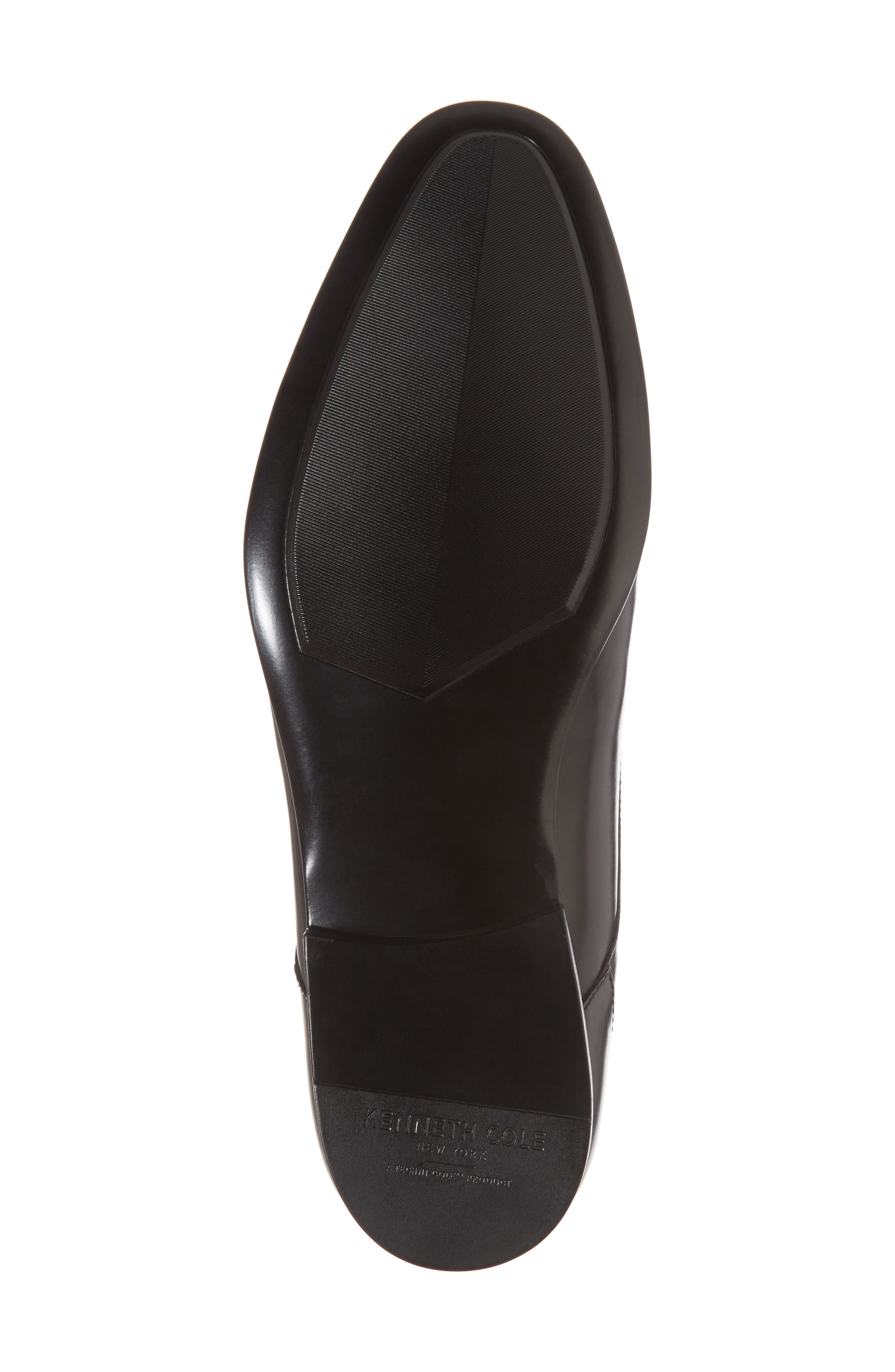 Cap Toe Oxford,                             Alternate thumbnail 6, color,                             Black Leather