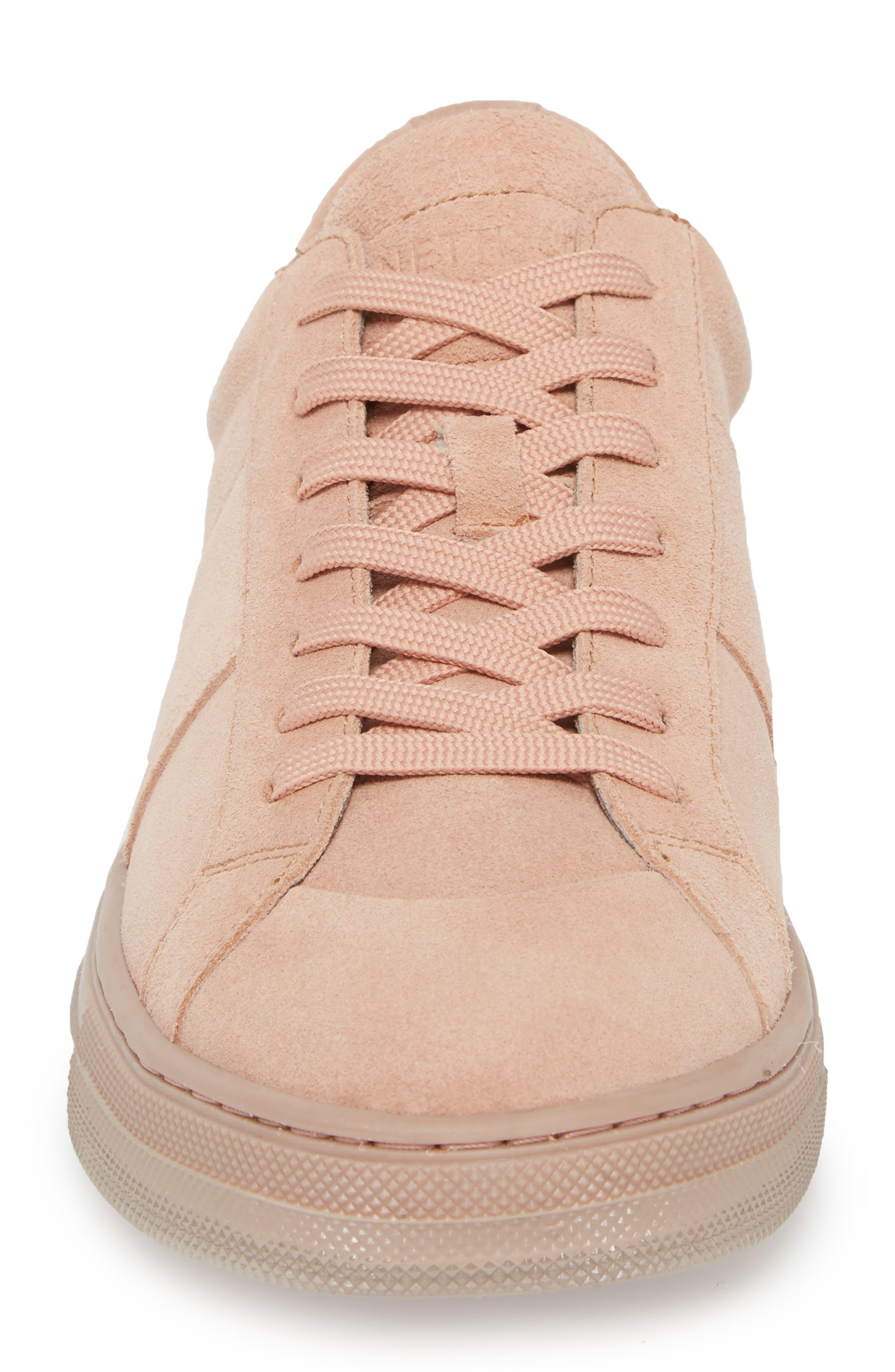 Colvin Sneaker,                             Alternate thumbnail 4, color,                             Rose Suede