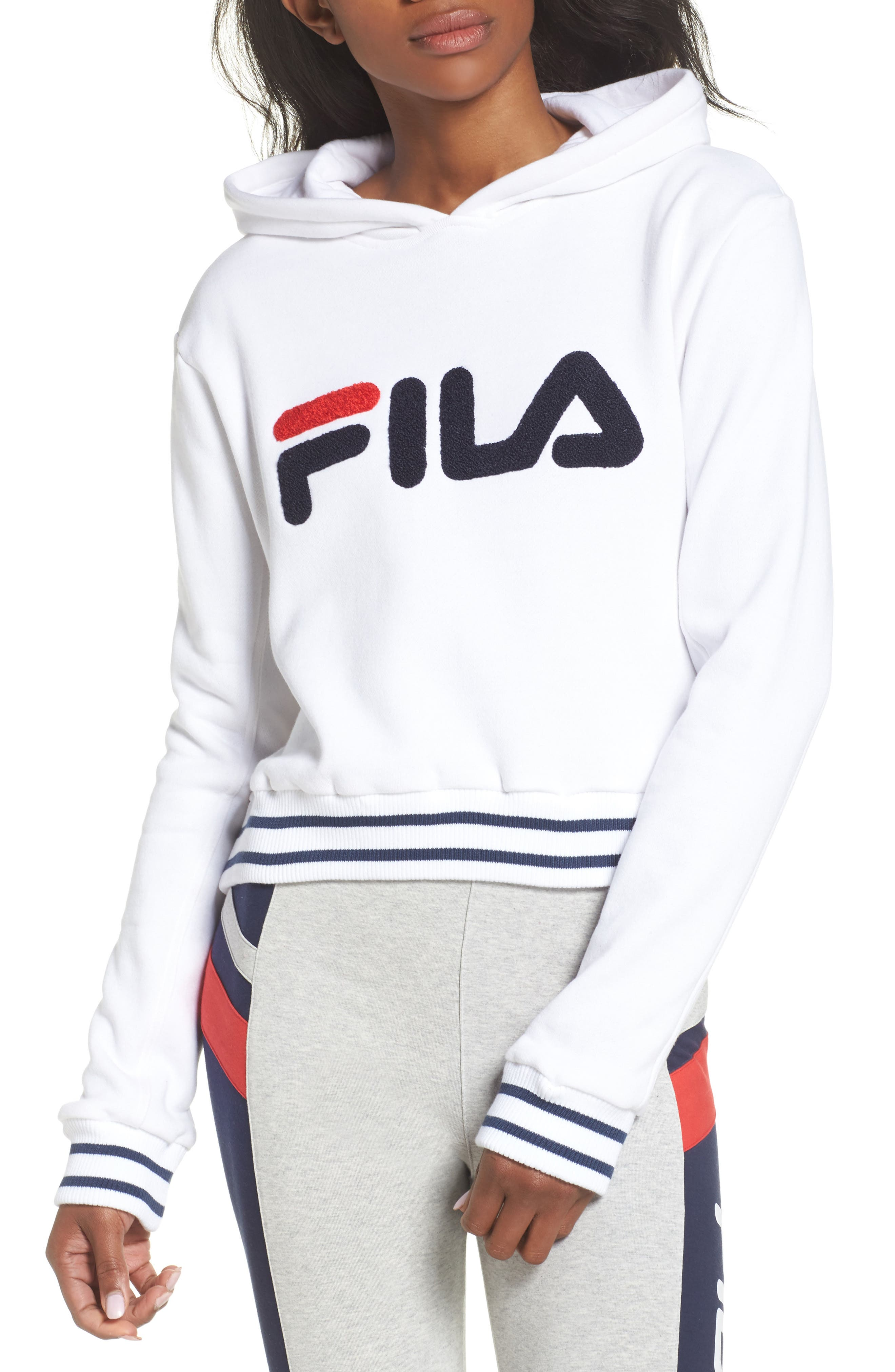 Rosemary Hoodie,                             Main thumbnail 1, color,                             White/ Peacoat/ Chinese Red