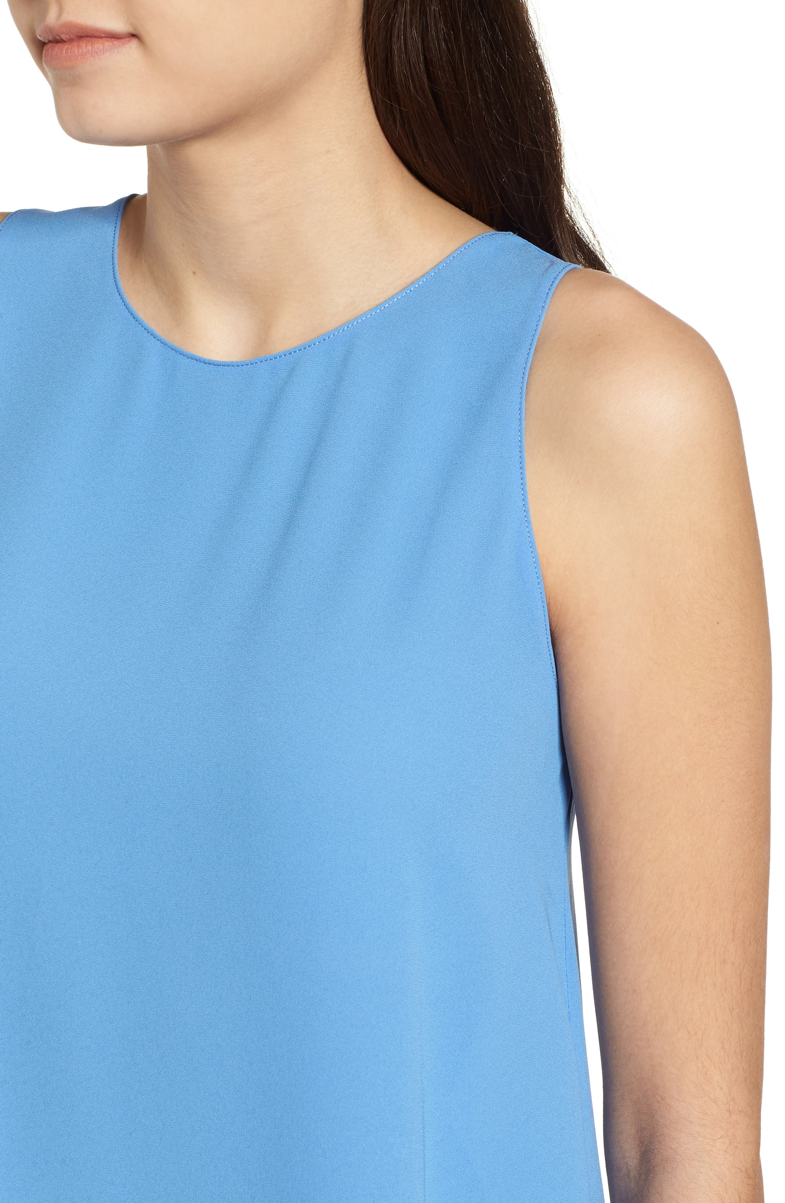 Side Slit Tank,                             Alternate thumbnail 4, color,                             Sky Blue