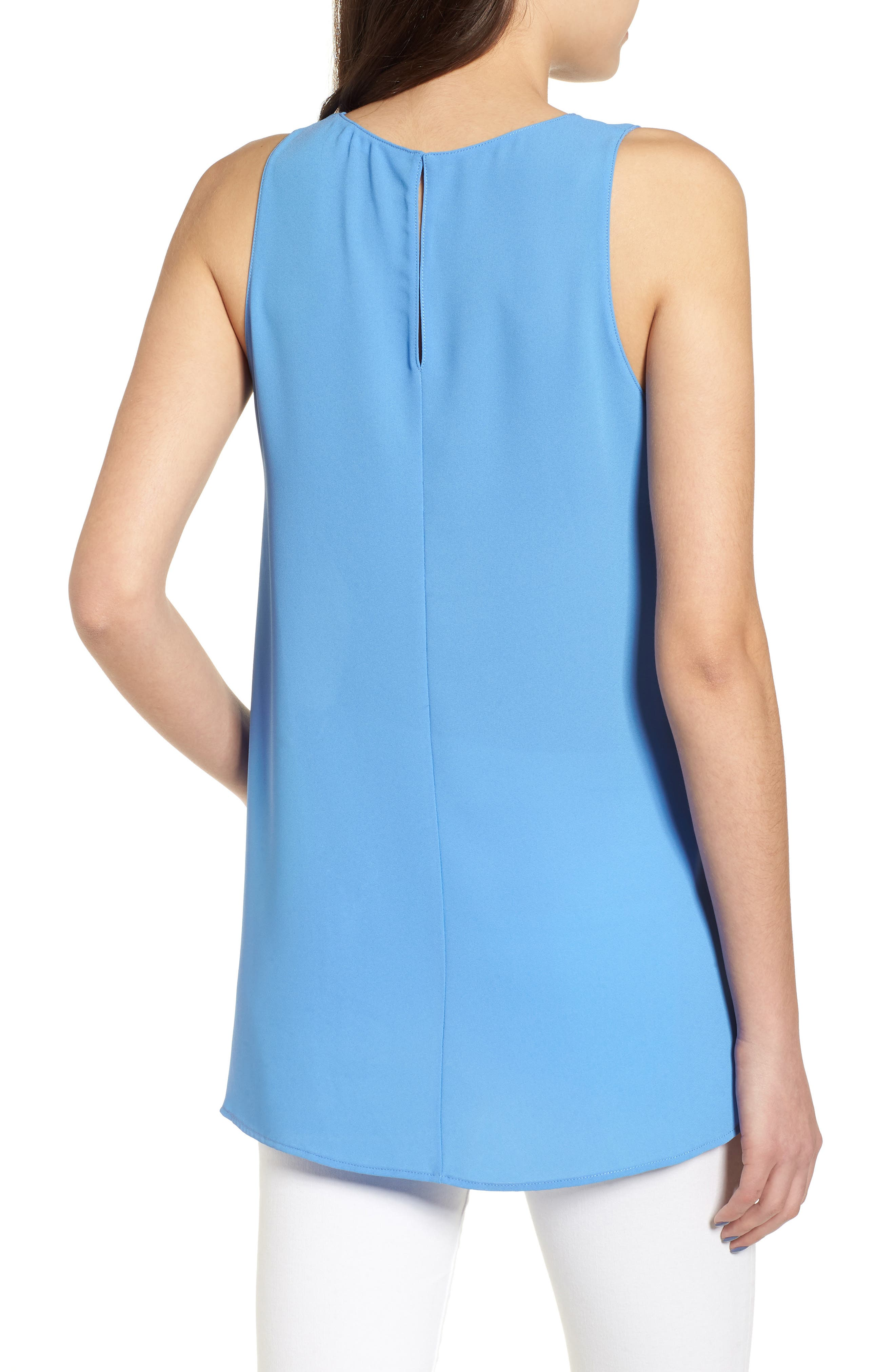 Side Slit Tank,                             Alternate thumbnail 2, color,                             Sky Blue