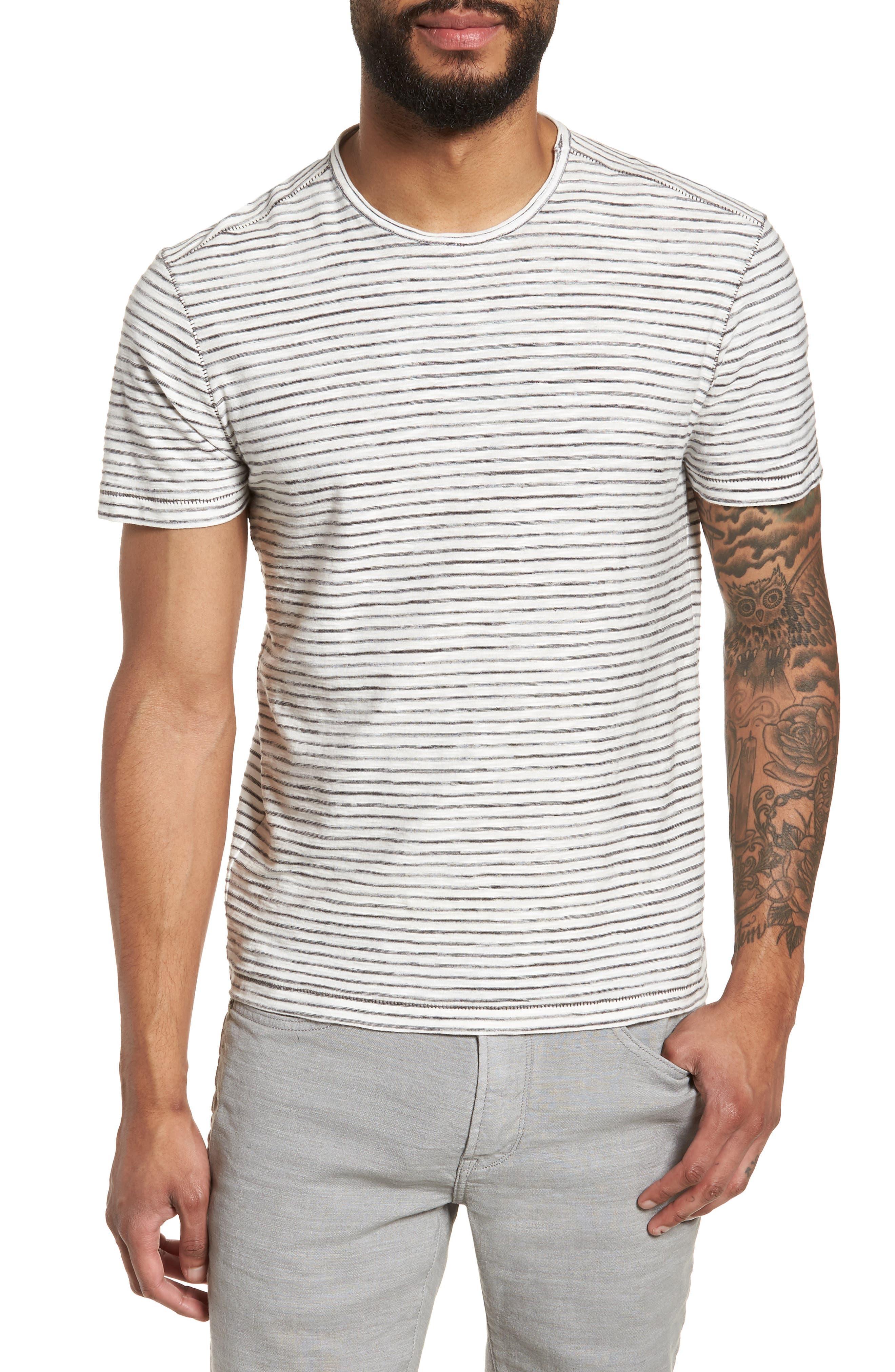 Slim Fit T-Shirt,                         Main,                         color, White