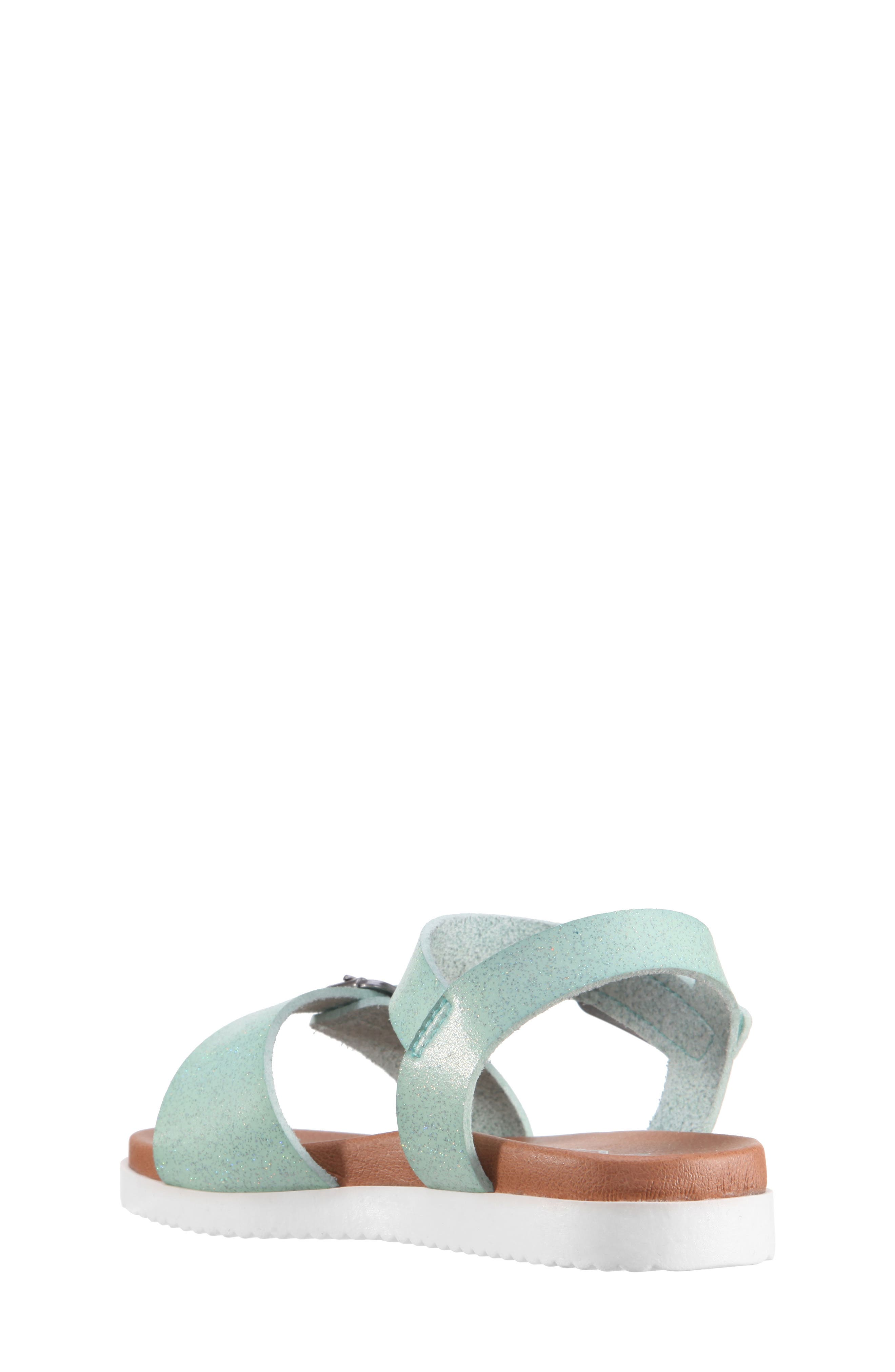 Jacklin3 Quarter Strap Sandal,                             Alternate thumbnail 2, color,                             Mint Dip Dye