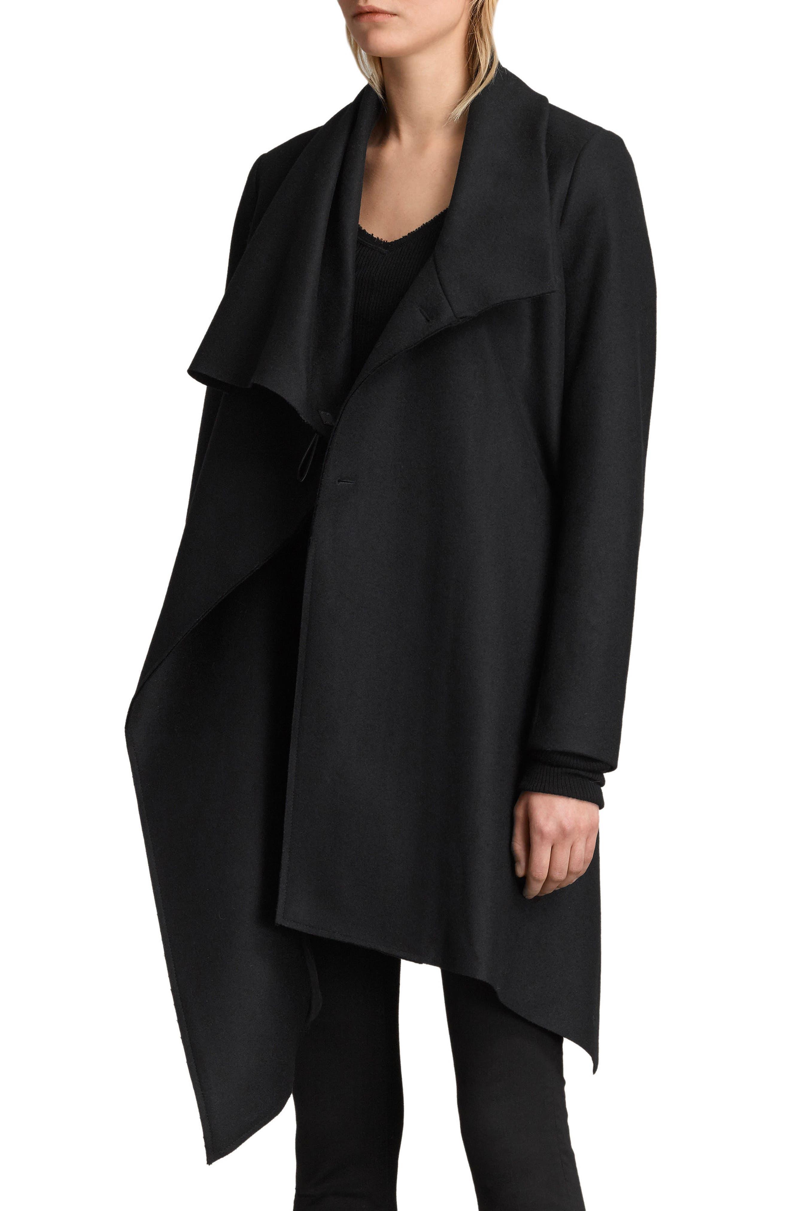 City Monument Coat,                         Main,                         color, Black