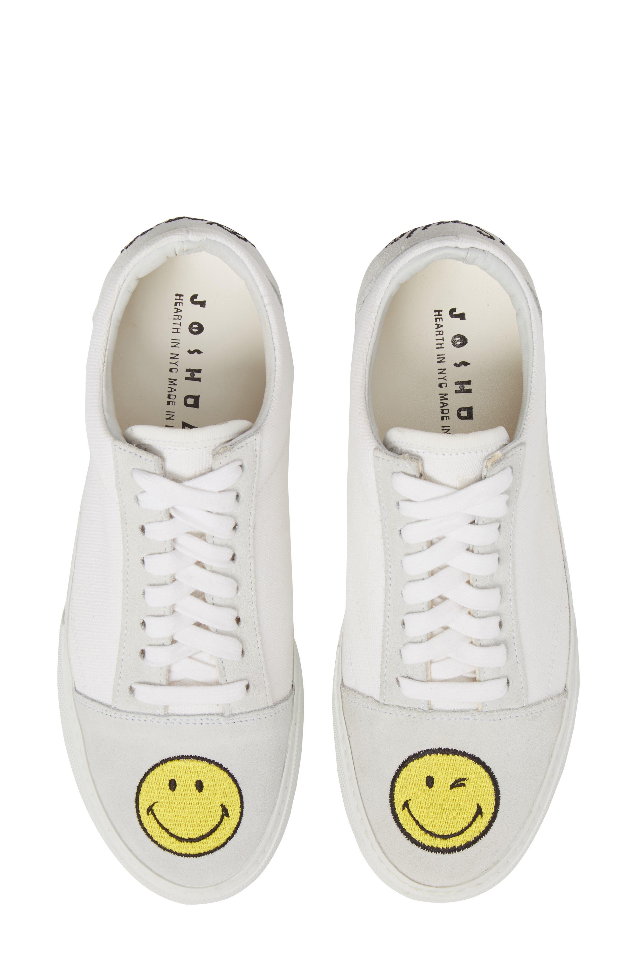 JOSHUA SANDERS Embroidered Smiley Sneaker (Women)