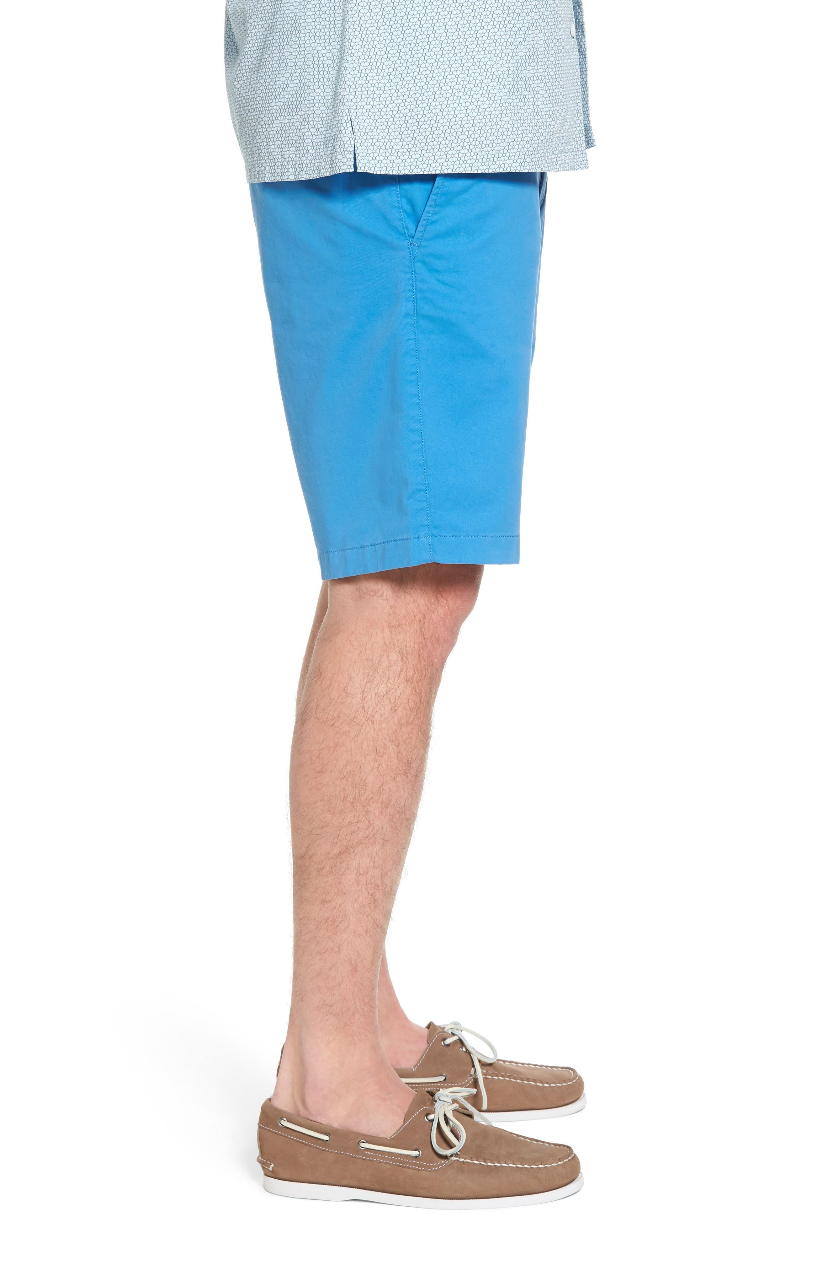 Ballard Slim Fit Stretch Chino 11-Inch Shorts,                             Alternate thumbnail 5, color,                             Blue Camp