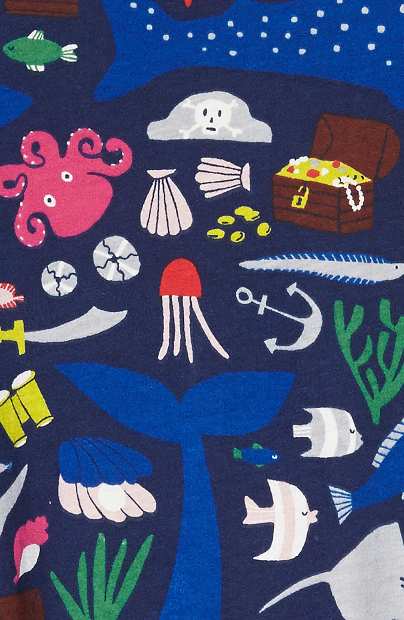 Jersey Swing Dress,                             Alternate thumbnail 2, color,                             Multi Treasure Tale
