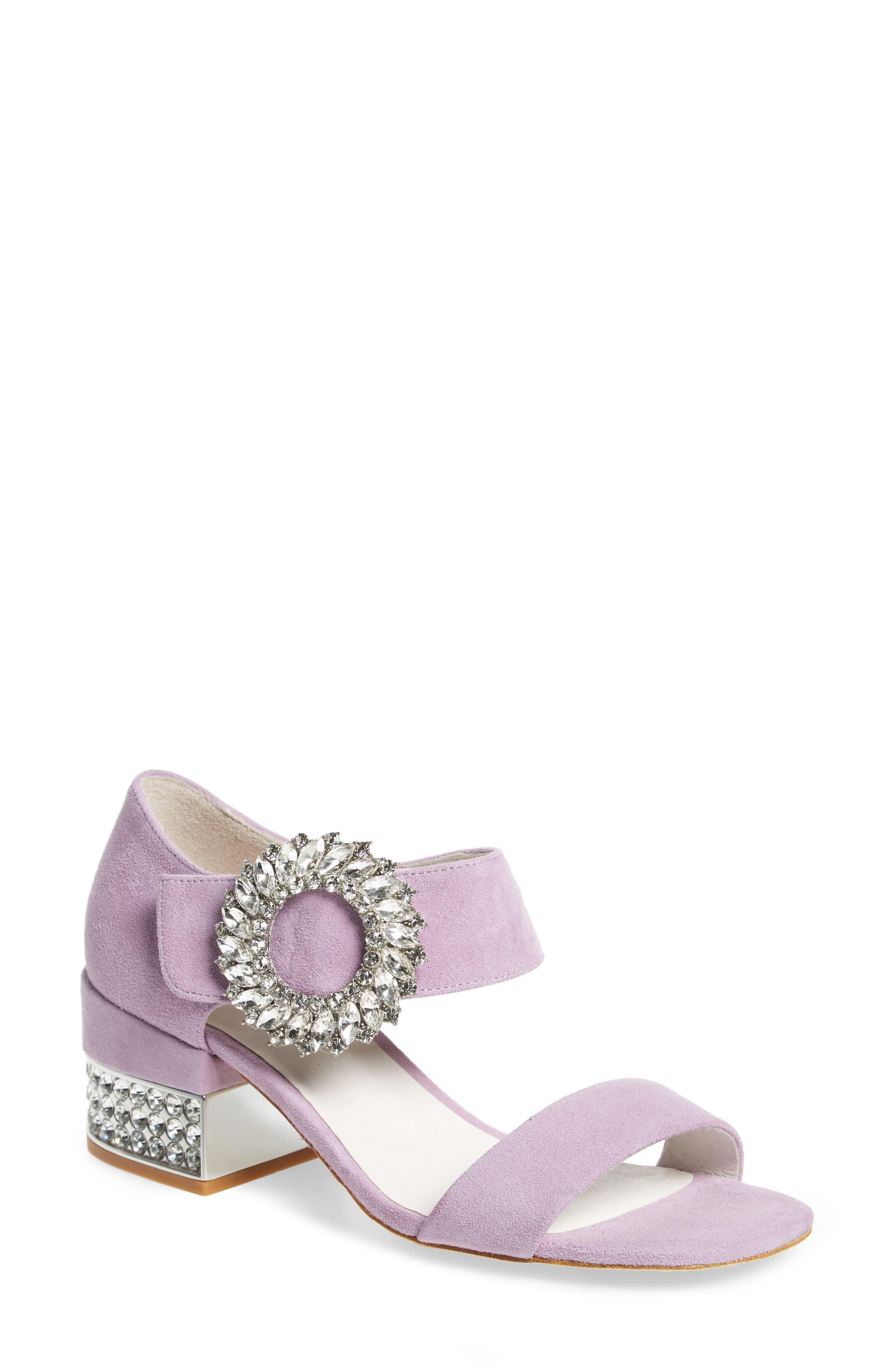 Jeffrey Campbell Kaylene Crystal Embellished Sandal (Women)