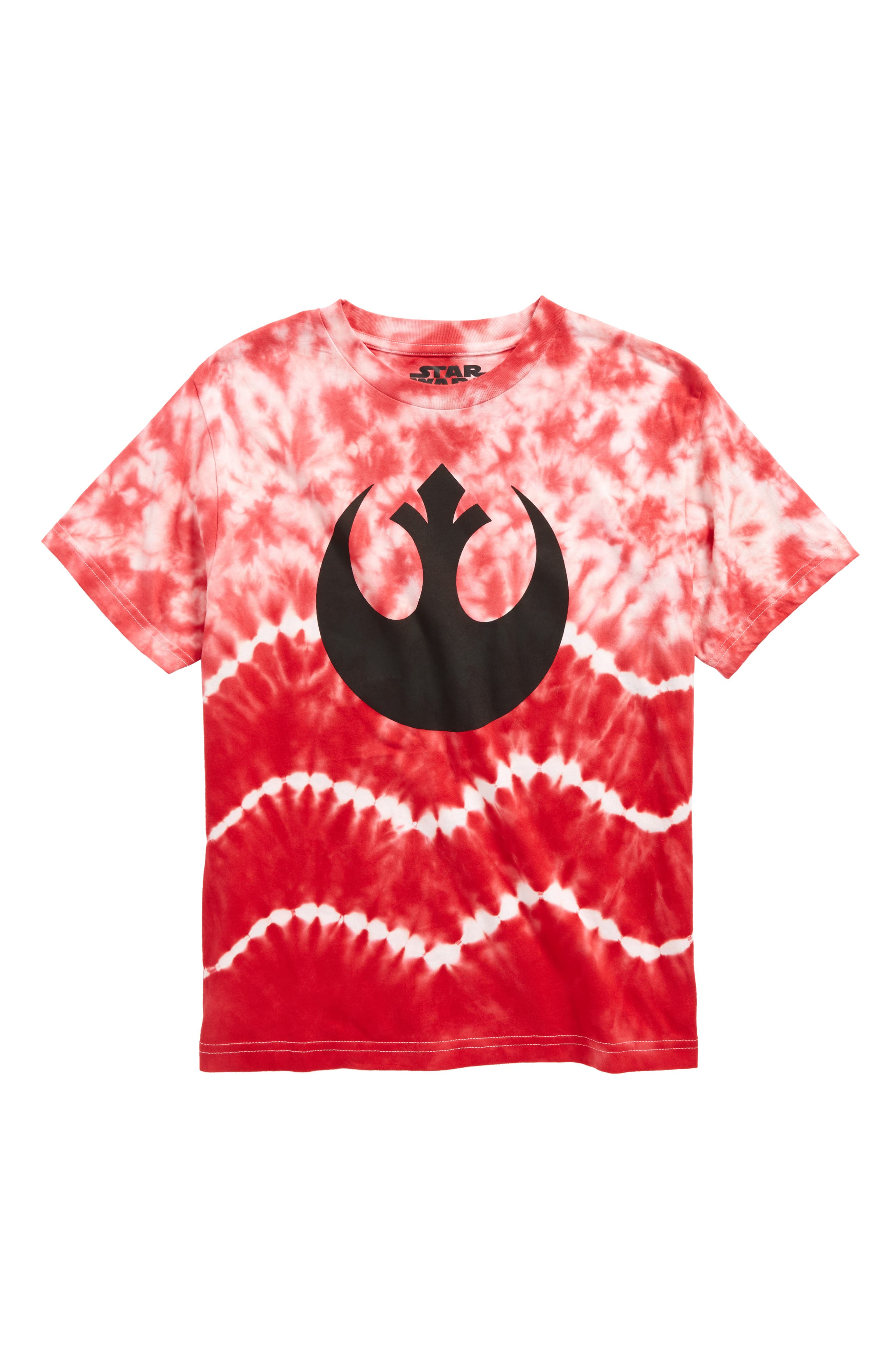 Star Wars<sup>™</sup> Rebel Graphic T-Shirt,                         Main,                         color, Red Lightning Wash