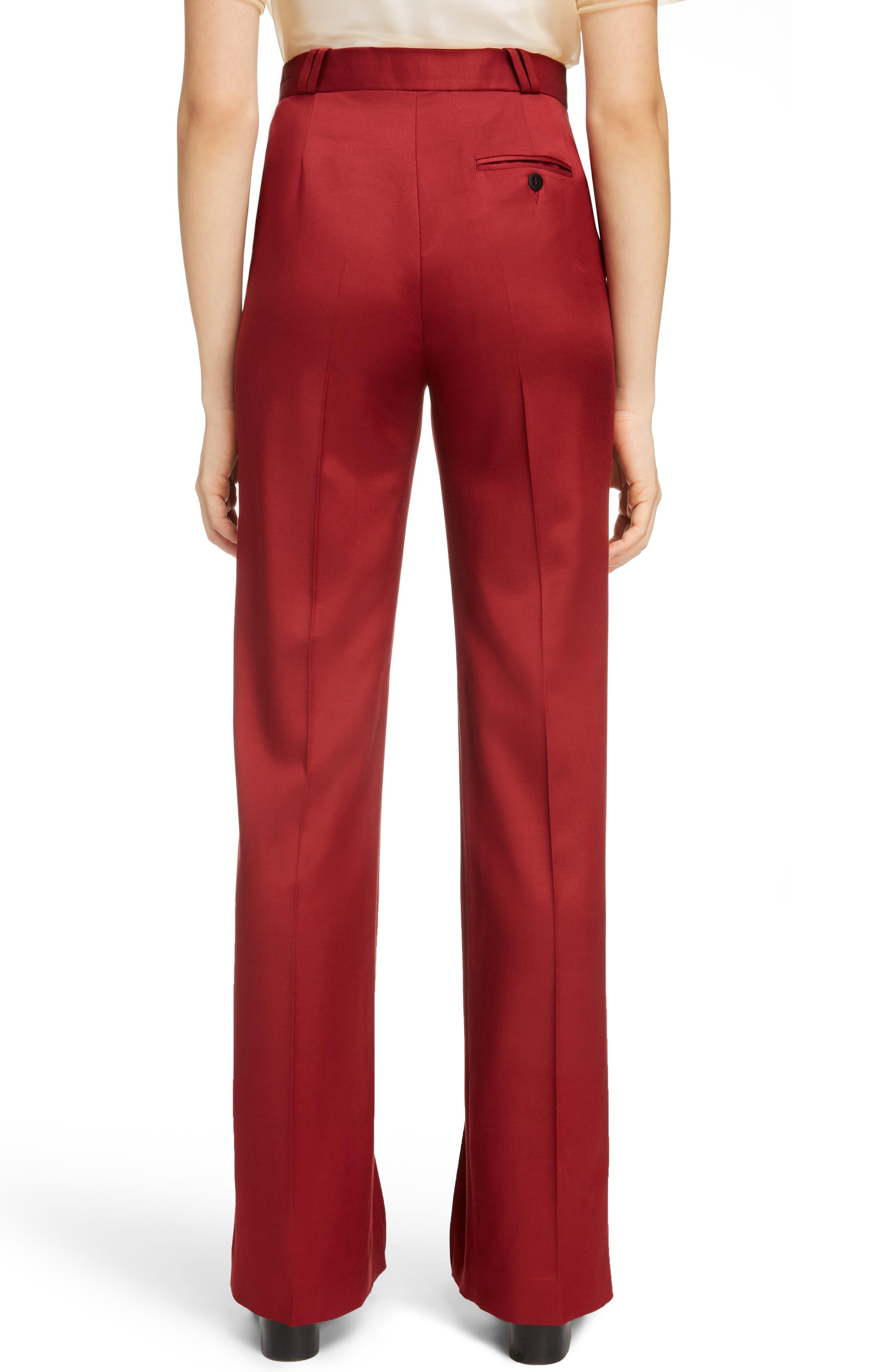 Tohny Suit Pants,                             Alternate thumbnail 3, color,                             Crimson Red