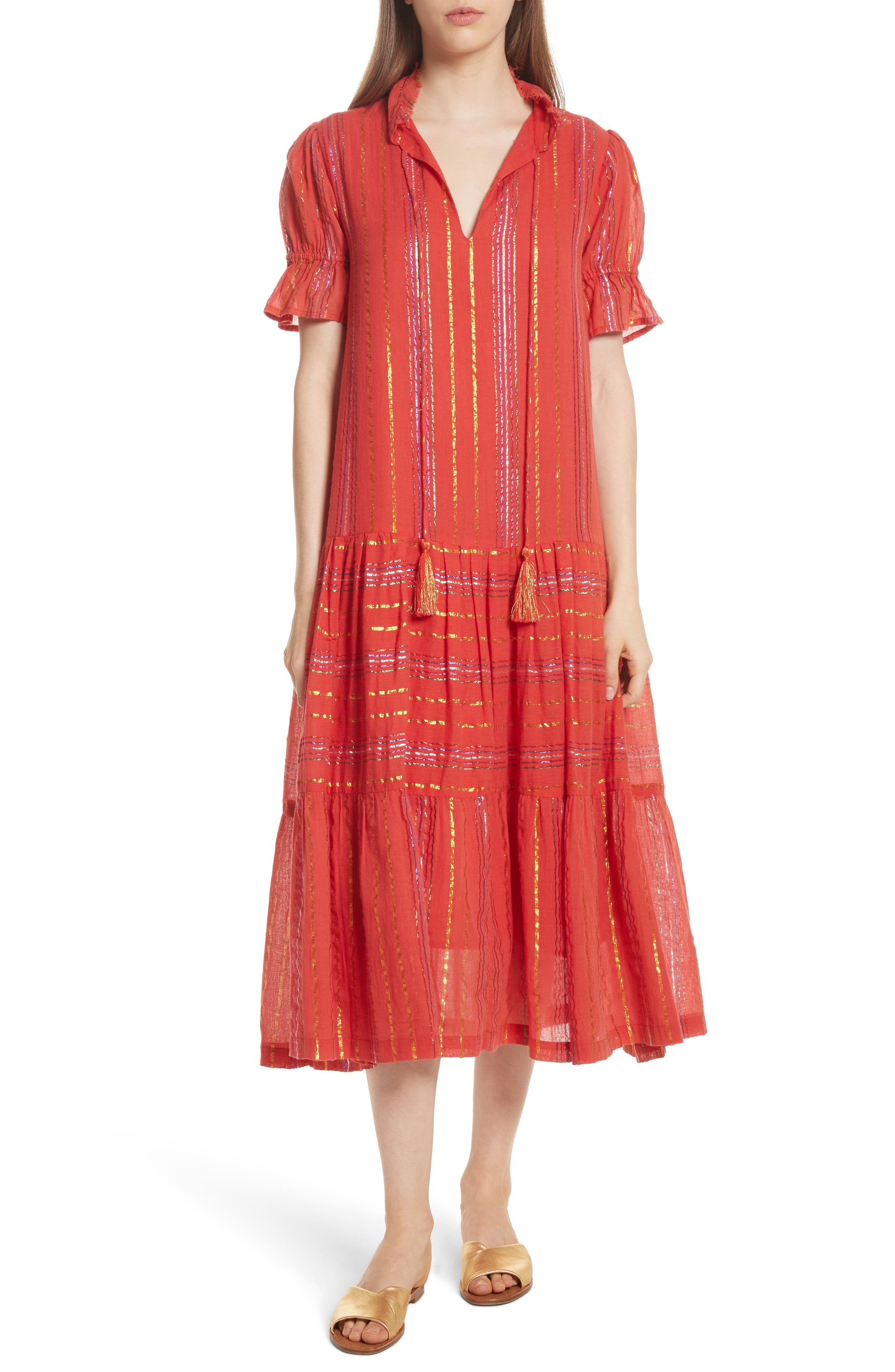 Apiece Apart Los Altos Midi Dress