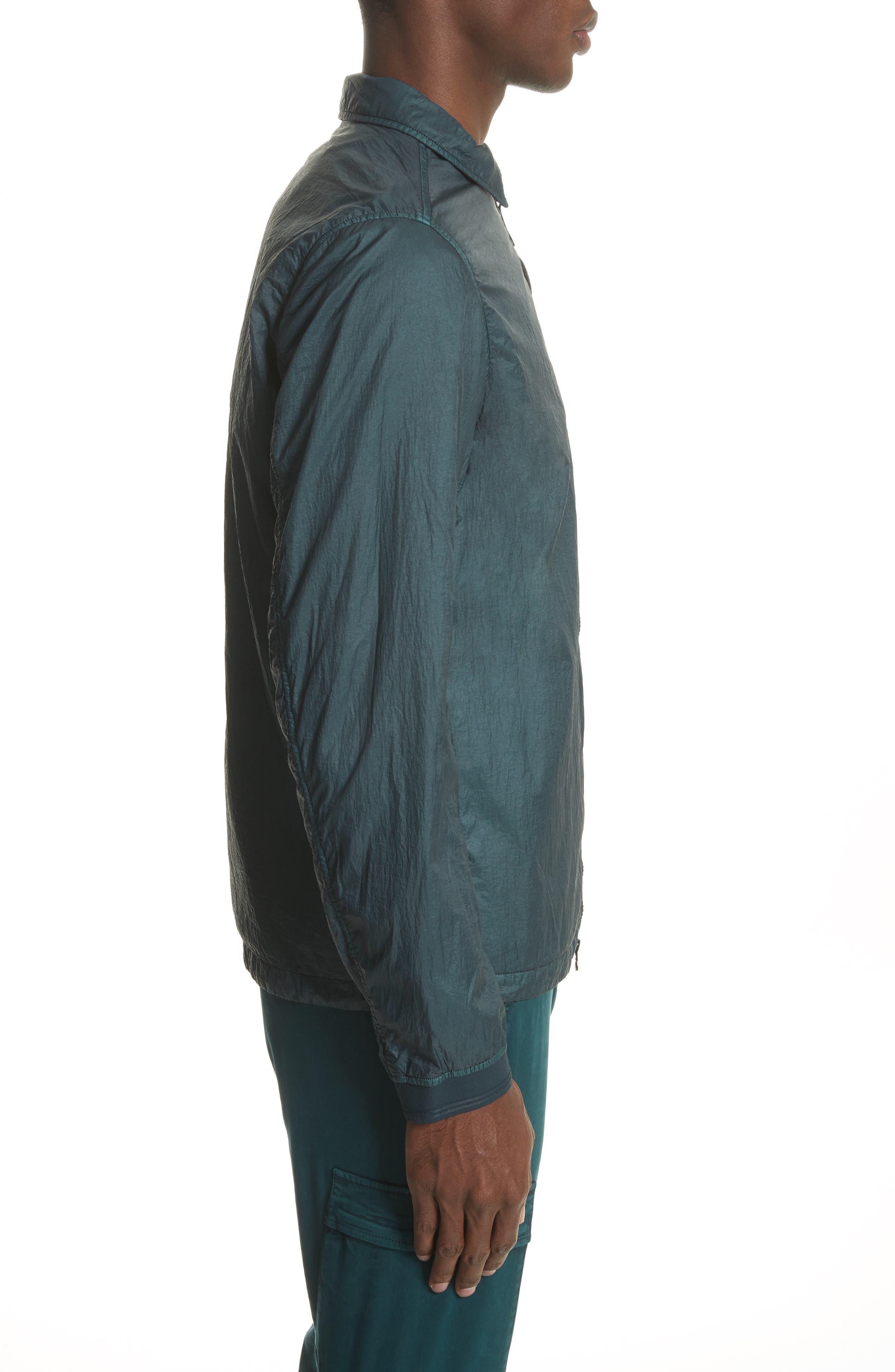 Nylon Jacket,                             Alternate thumbnail 3, color,                             Blue