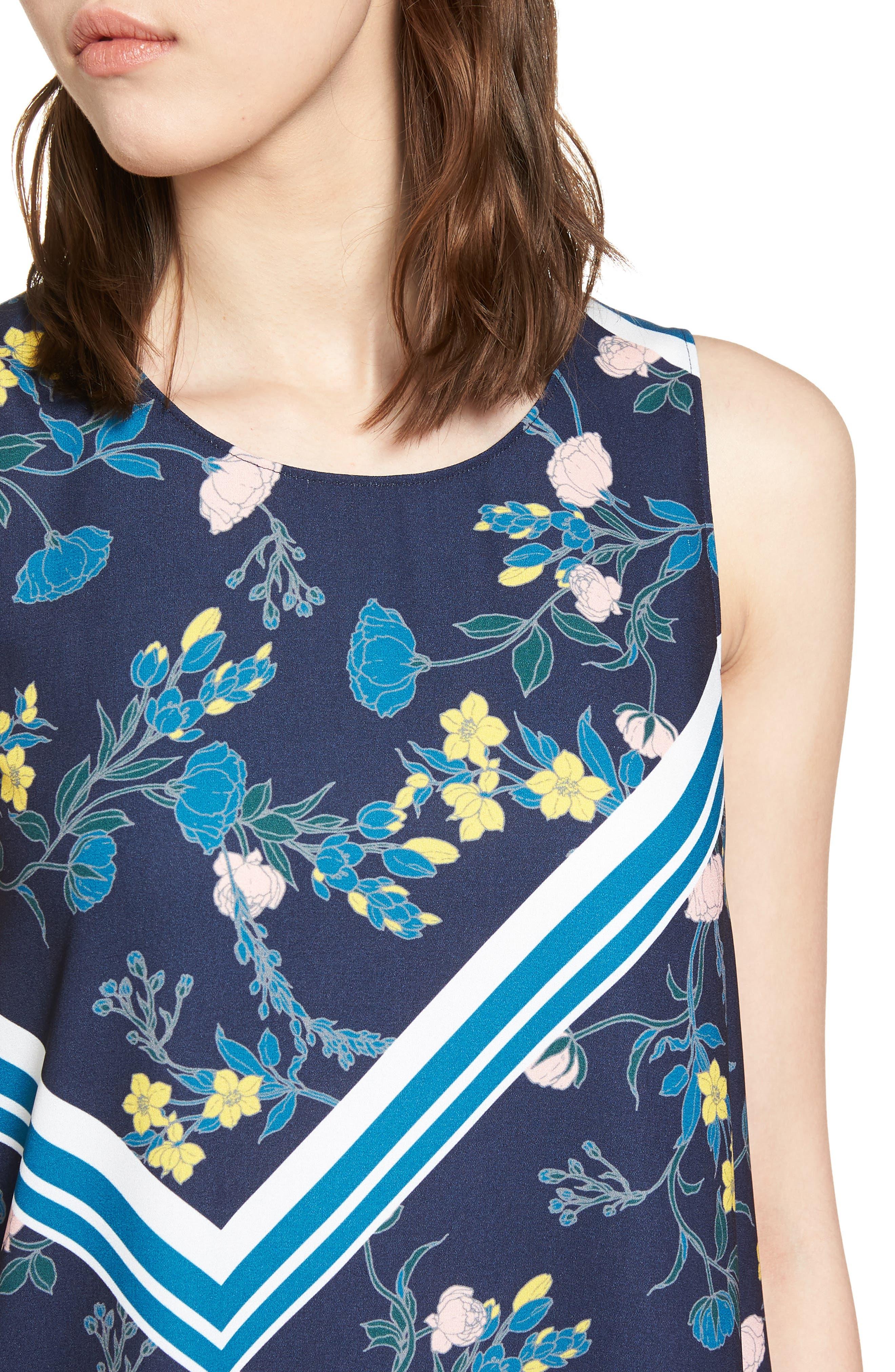 Alternate Image 4  - Halogen® A-Line Dress (Regular & Petite)