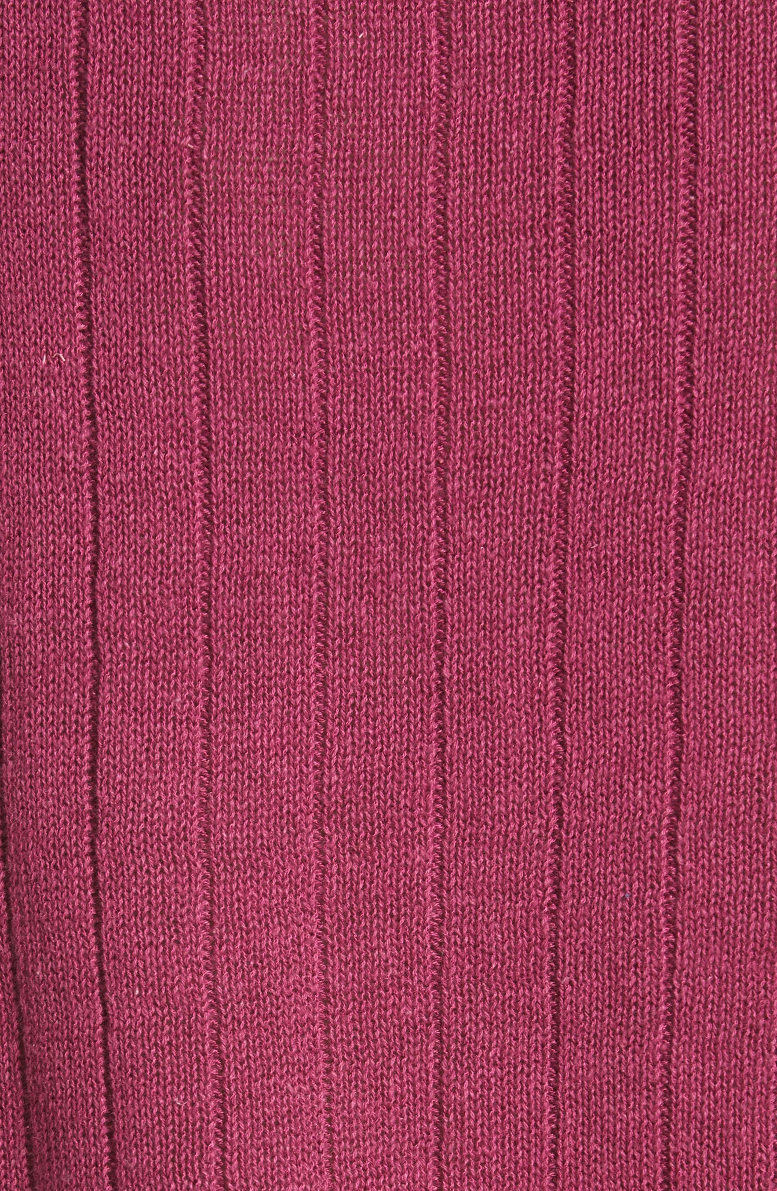 Got Me Twisted Sweater,                             Alternate thumbnail 6, color,                             Wine