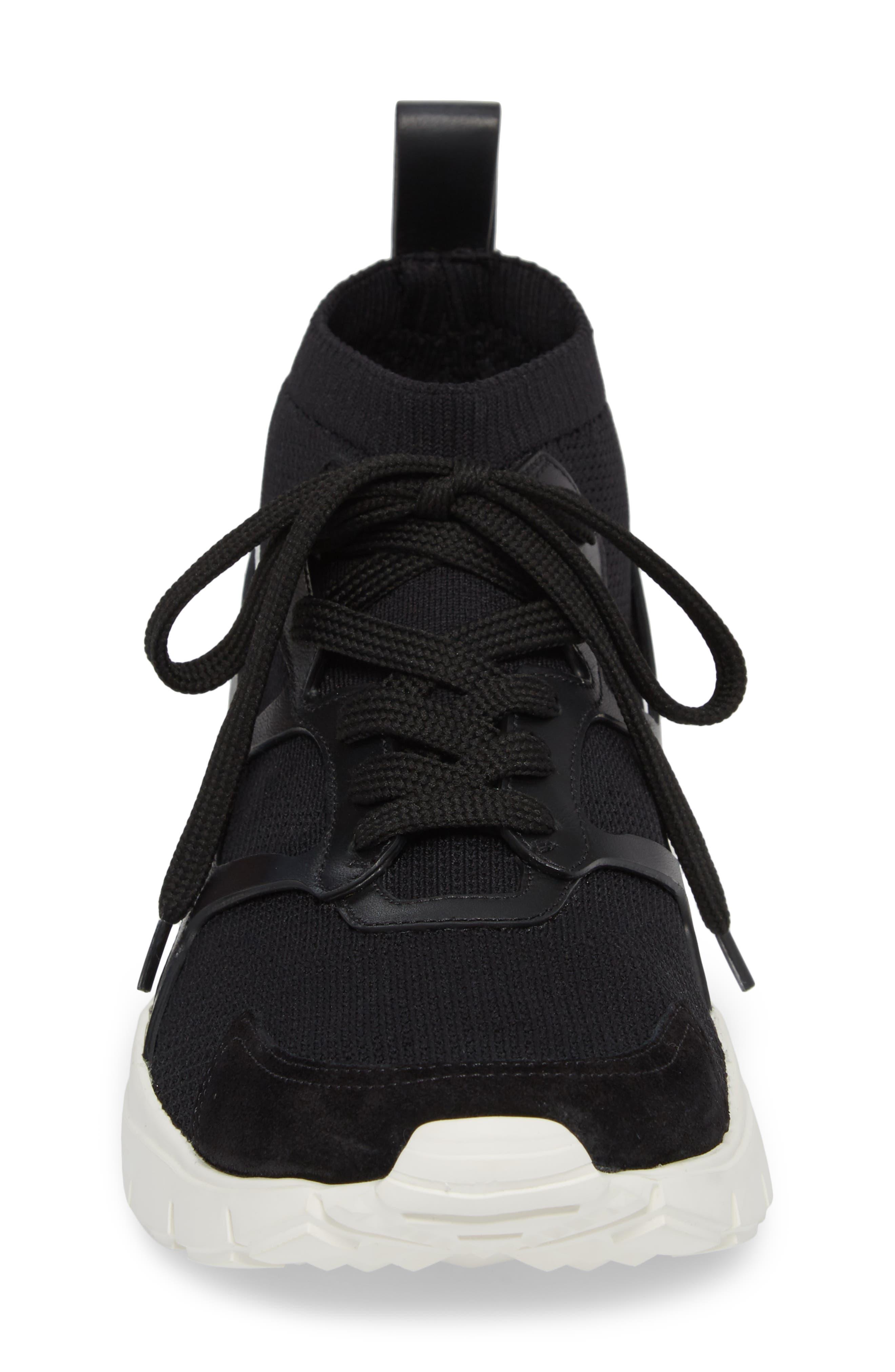 Sound High Sneaker,                             Alternate thumbnail 4, color,                             Nero