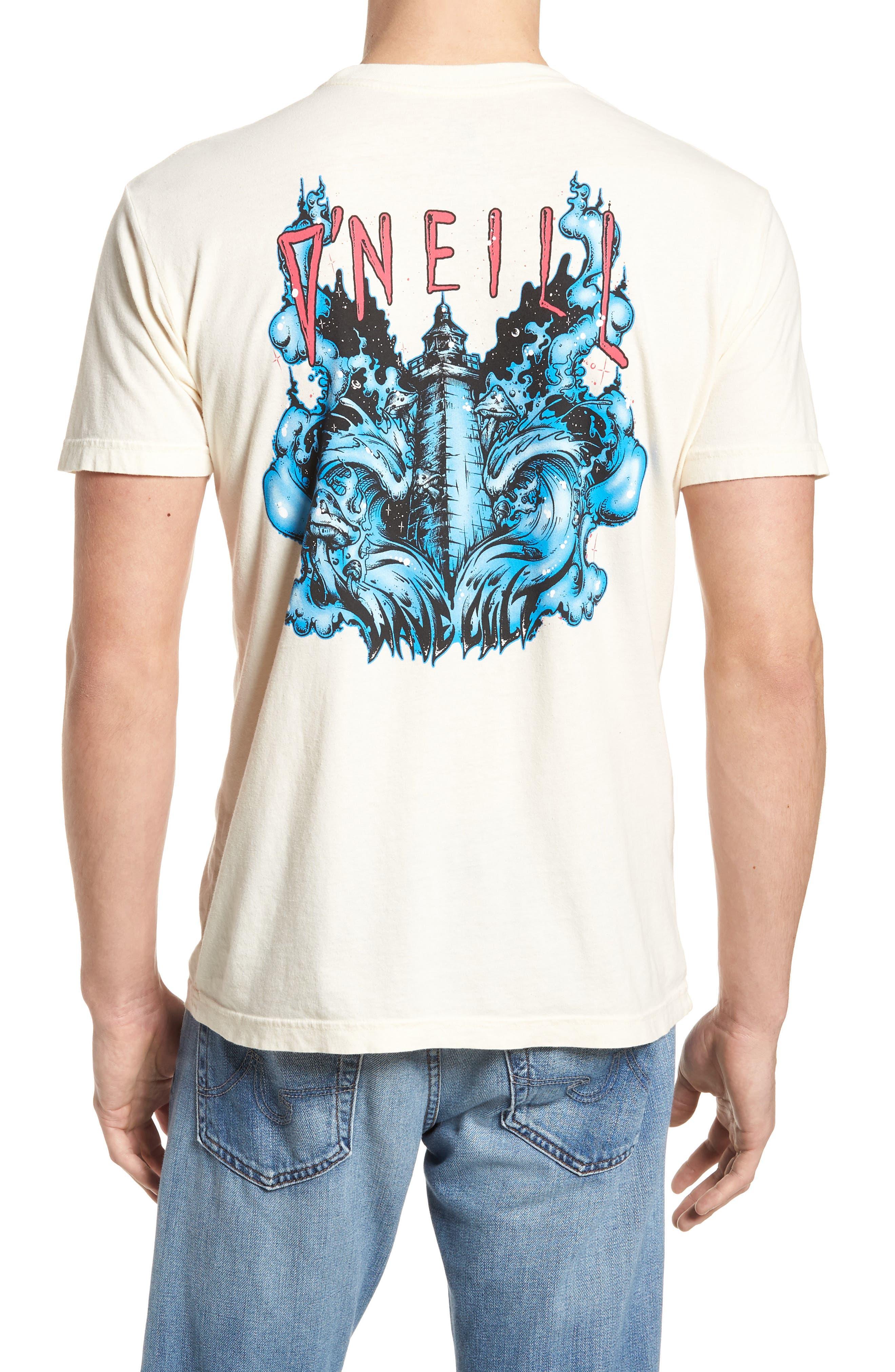 Doom Graphic T-Shirt,                             Alternate thumbnail 2, color,                             Bone