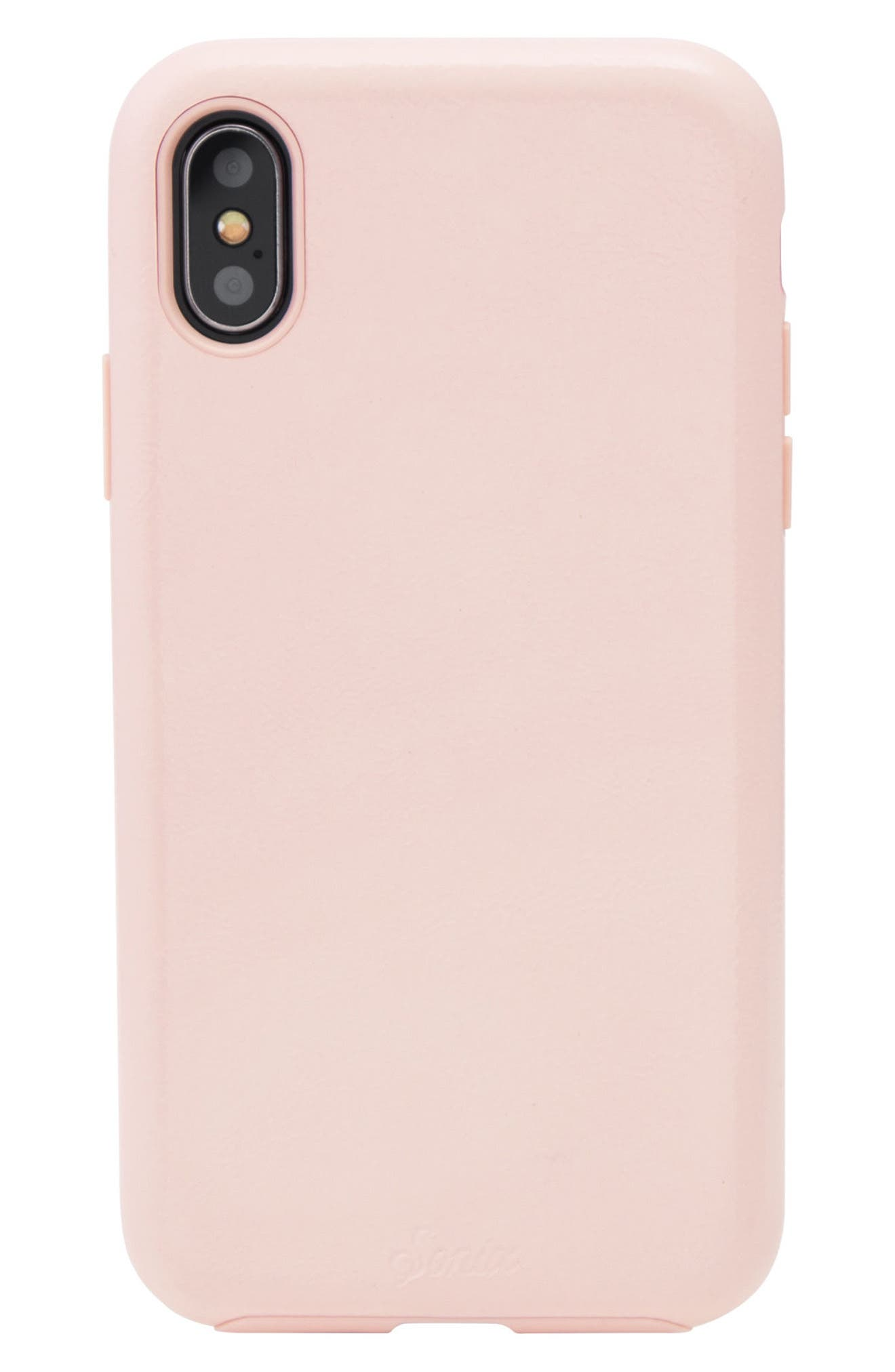 Sonix Pink Patent Faux Leather iPhone X Case