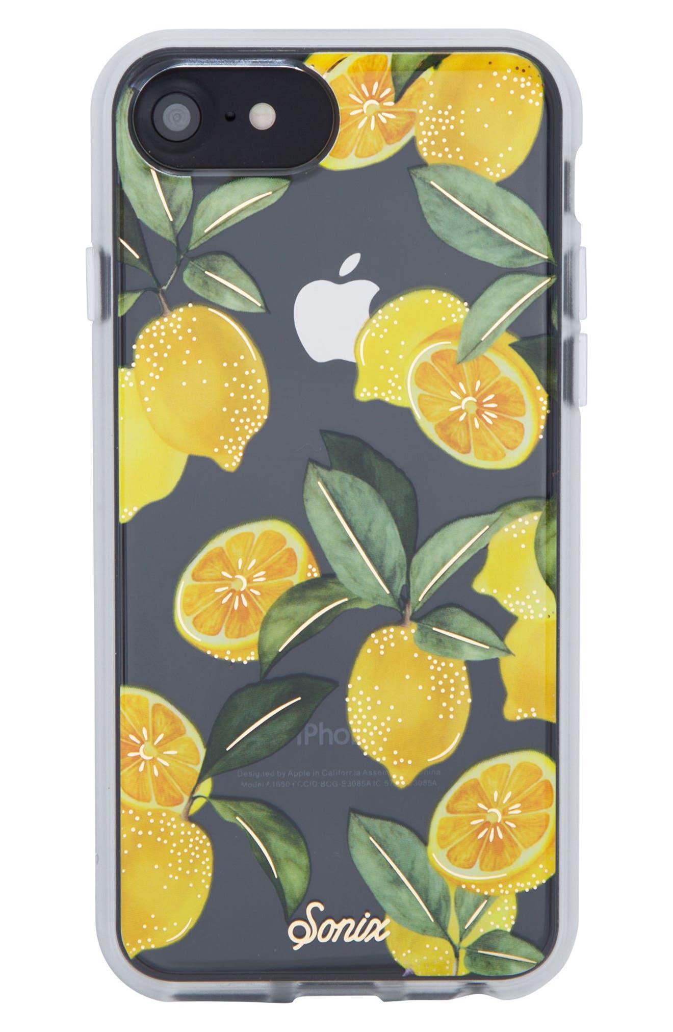 Sonix Lemon Zest iPhone 6/6s/7/8 & 6/6s/7/8 Plus Case