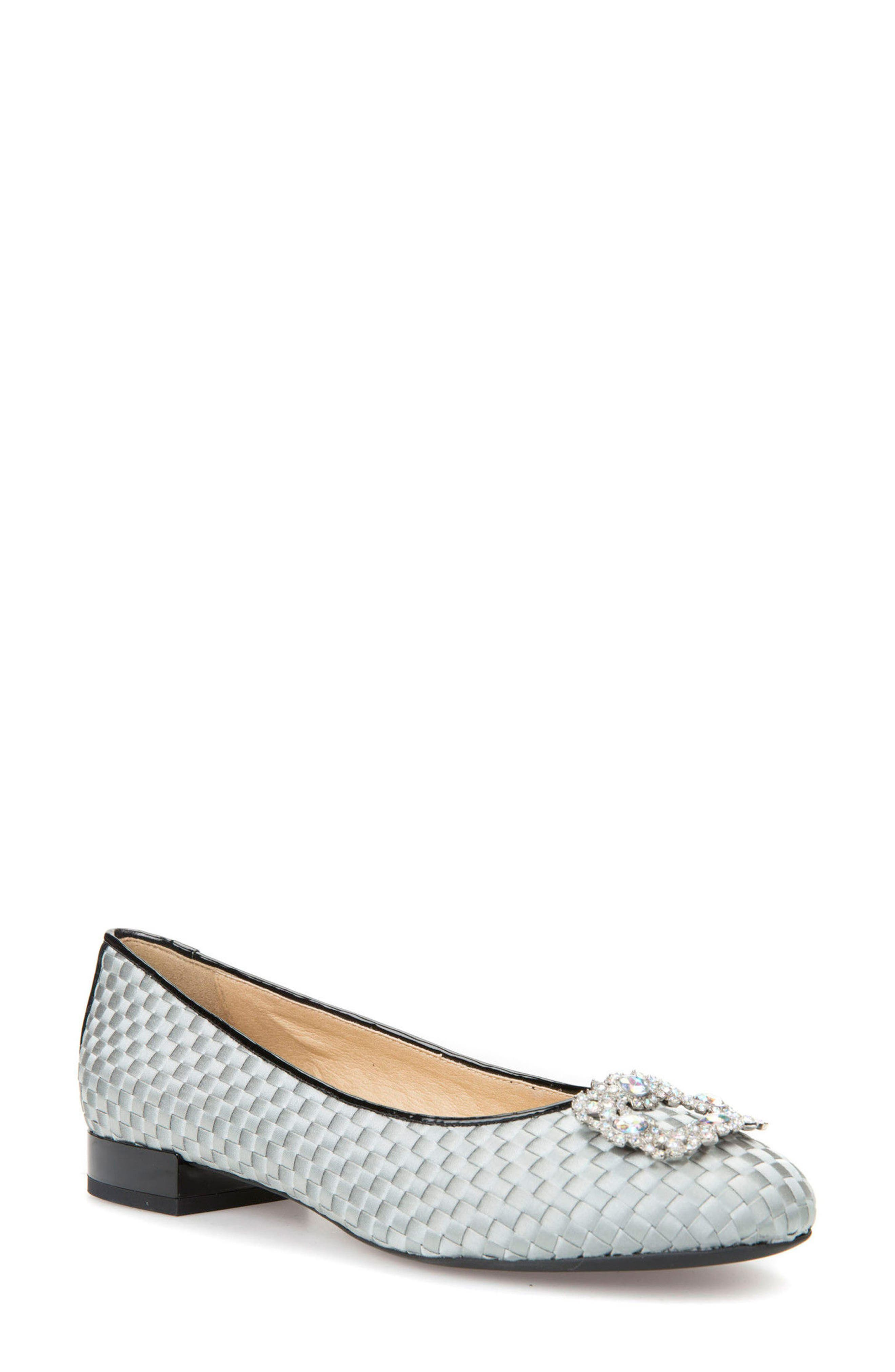 Wistrey Woven Embellished Slip-On,                             Main thumbnail 1, color,                             Light Green/ Black Fabric