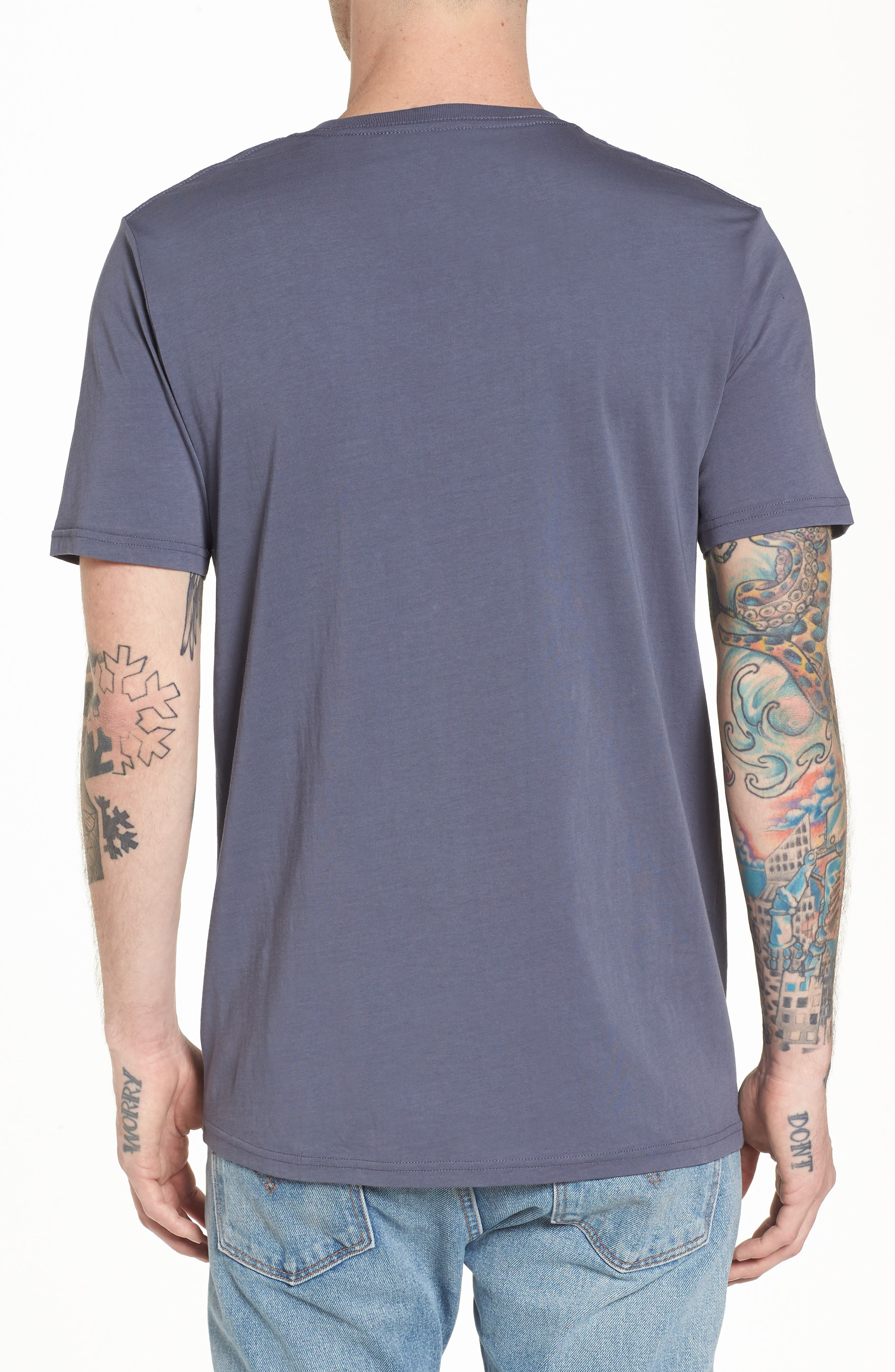 Club Graphic T-Shirt,                             Alternate thumbnail 2, color,                             Bruise Blue