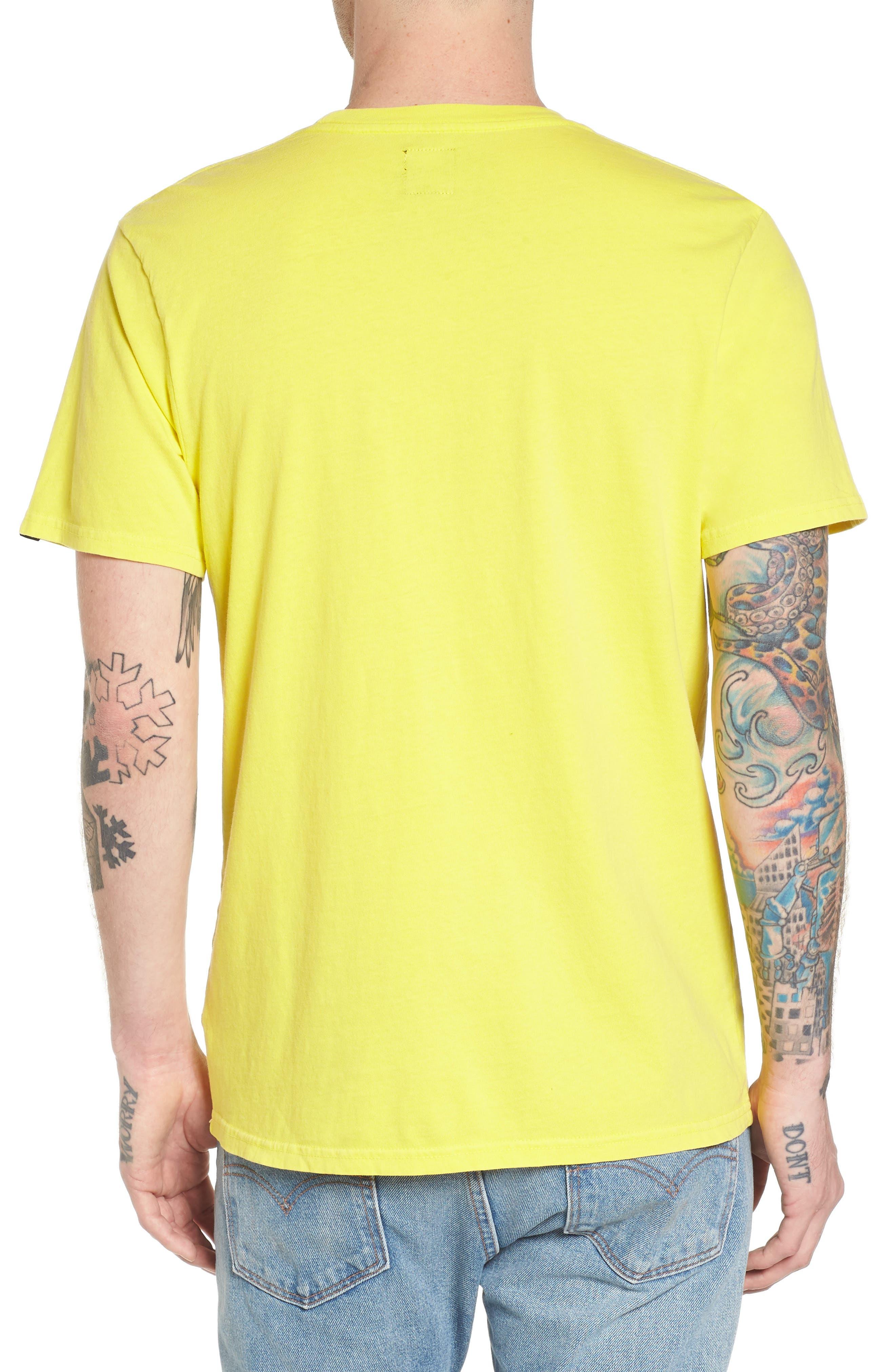 No Tourist Patch T-Shirt,                             Alternate thumbnail 2, color,                             Green Sheen