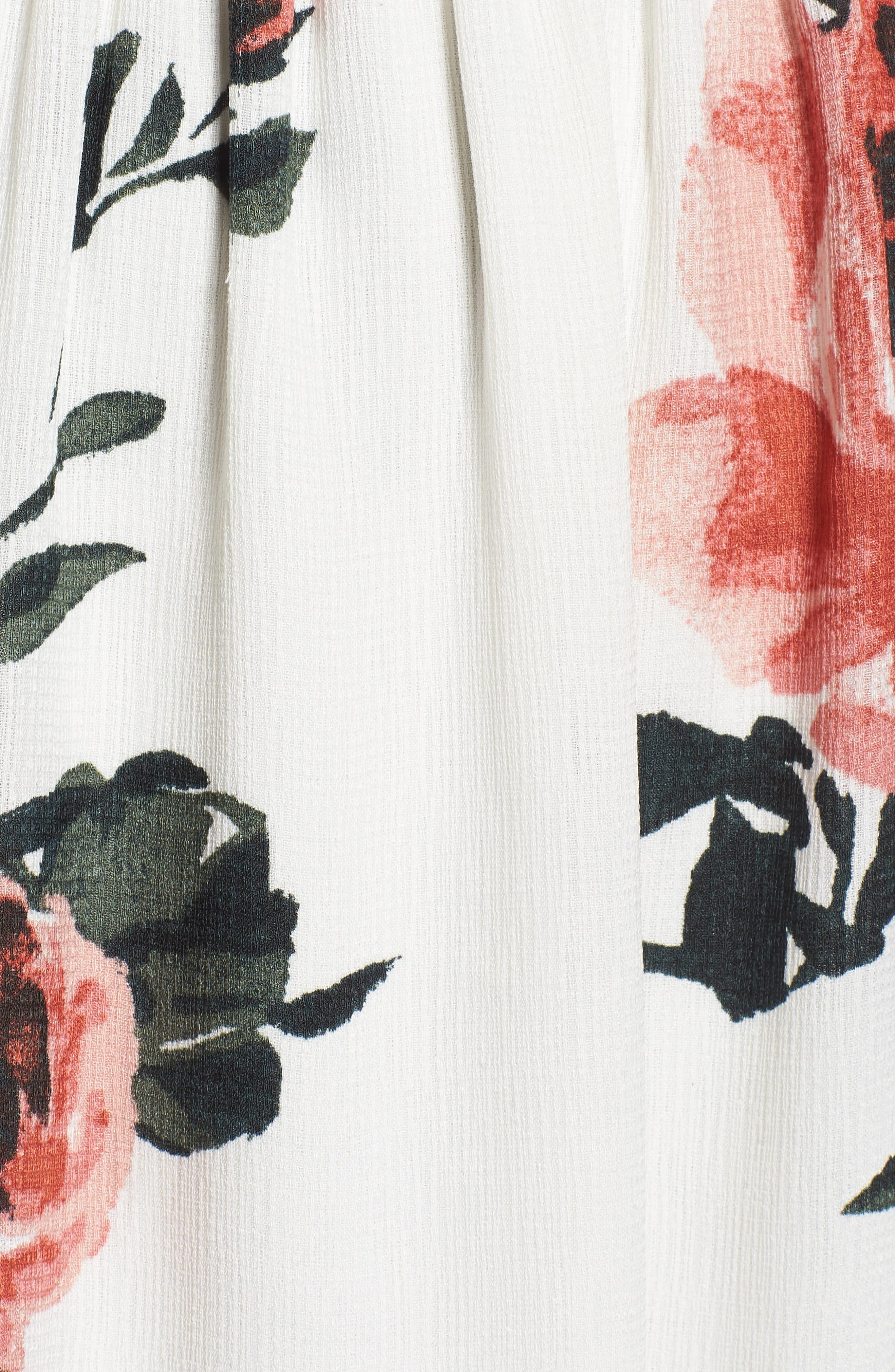 Alternate Image 5  - BP. Floral Print Maxi Dress