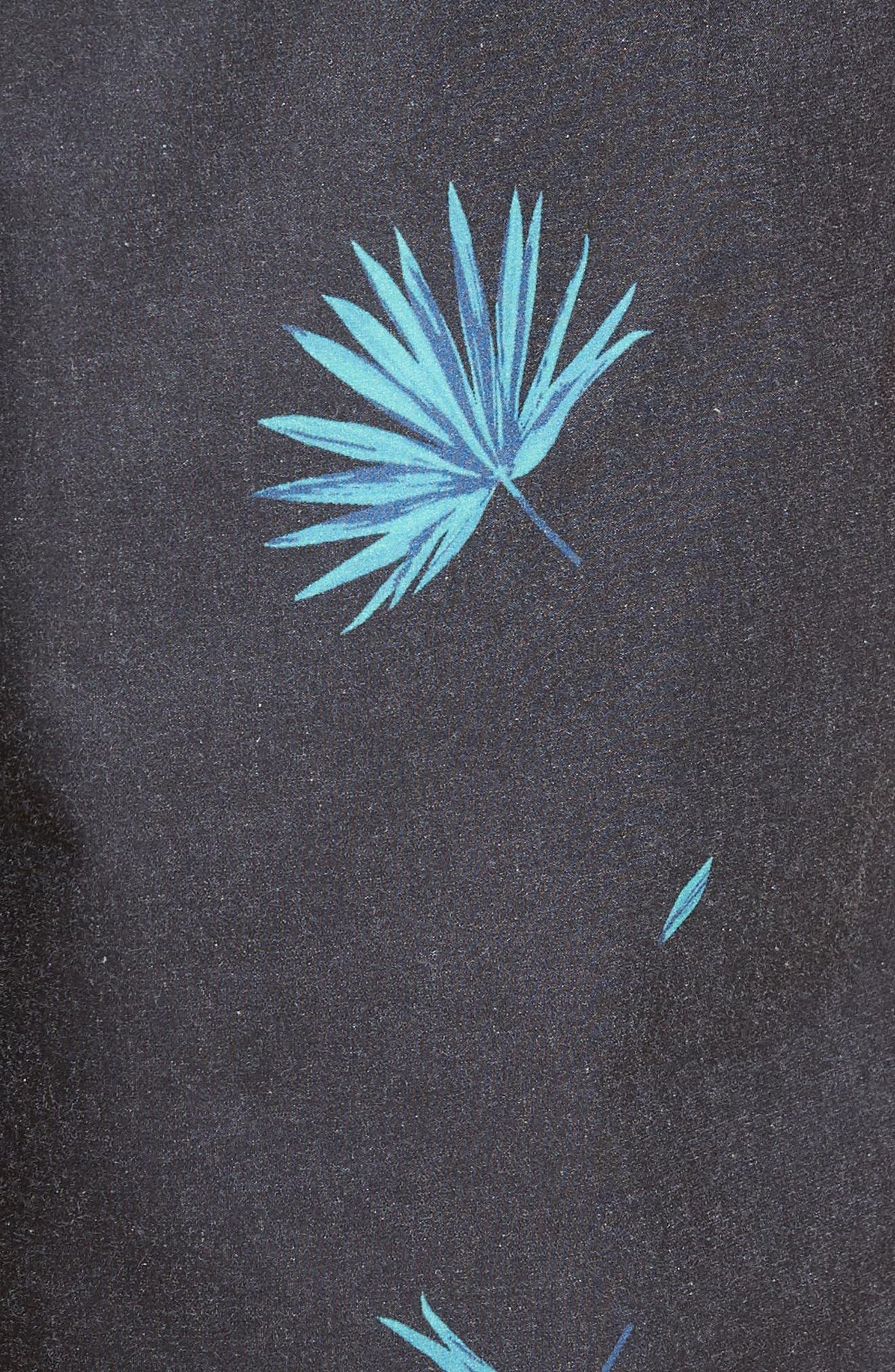 Broker Swim Trunks,                             Alternate thumbnail 5, color,                             Kana Vintage Black